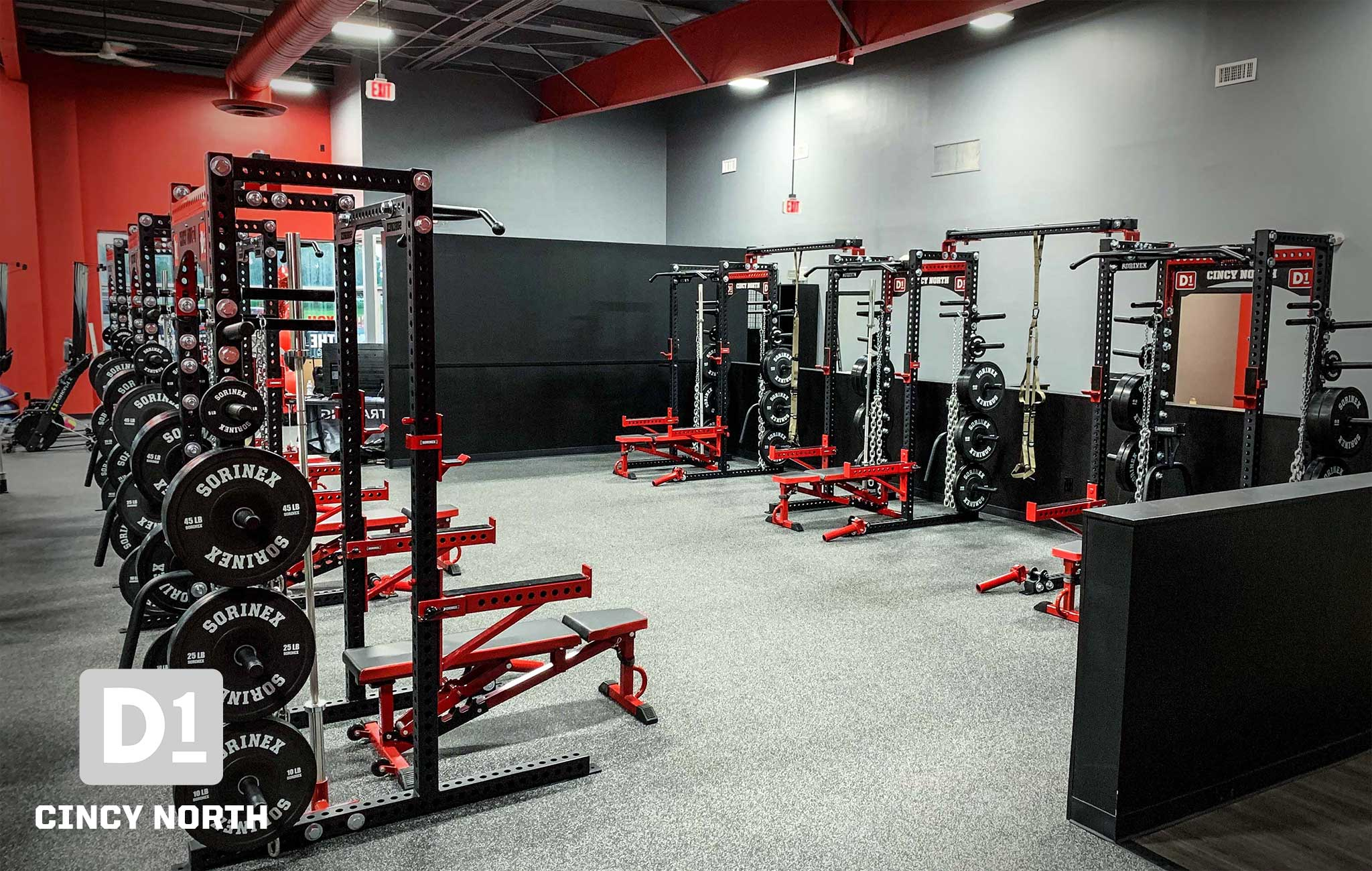 D1 Private Training facility Sorinex