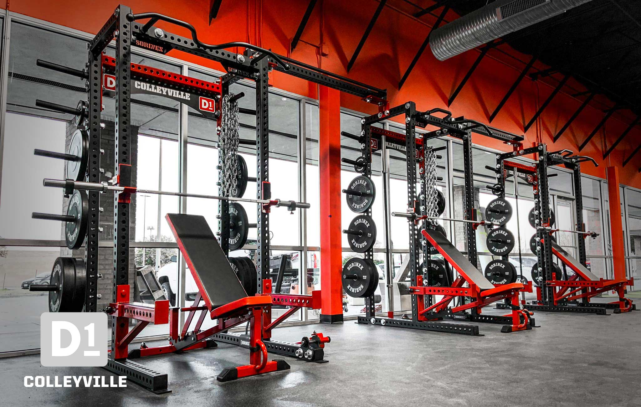 D1 Colleyville Private Training facility Sorinex