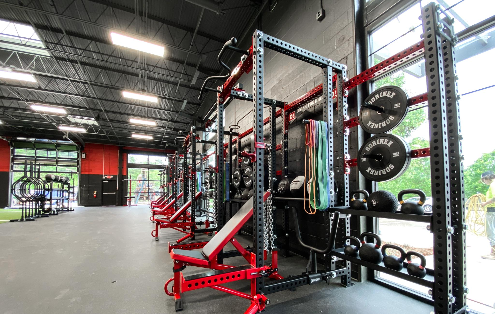 D1 Athens strength and conditioning