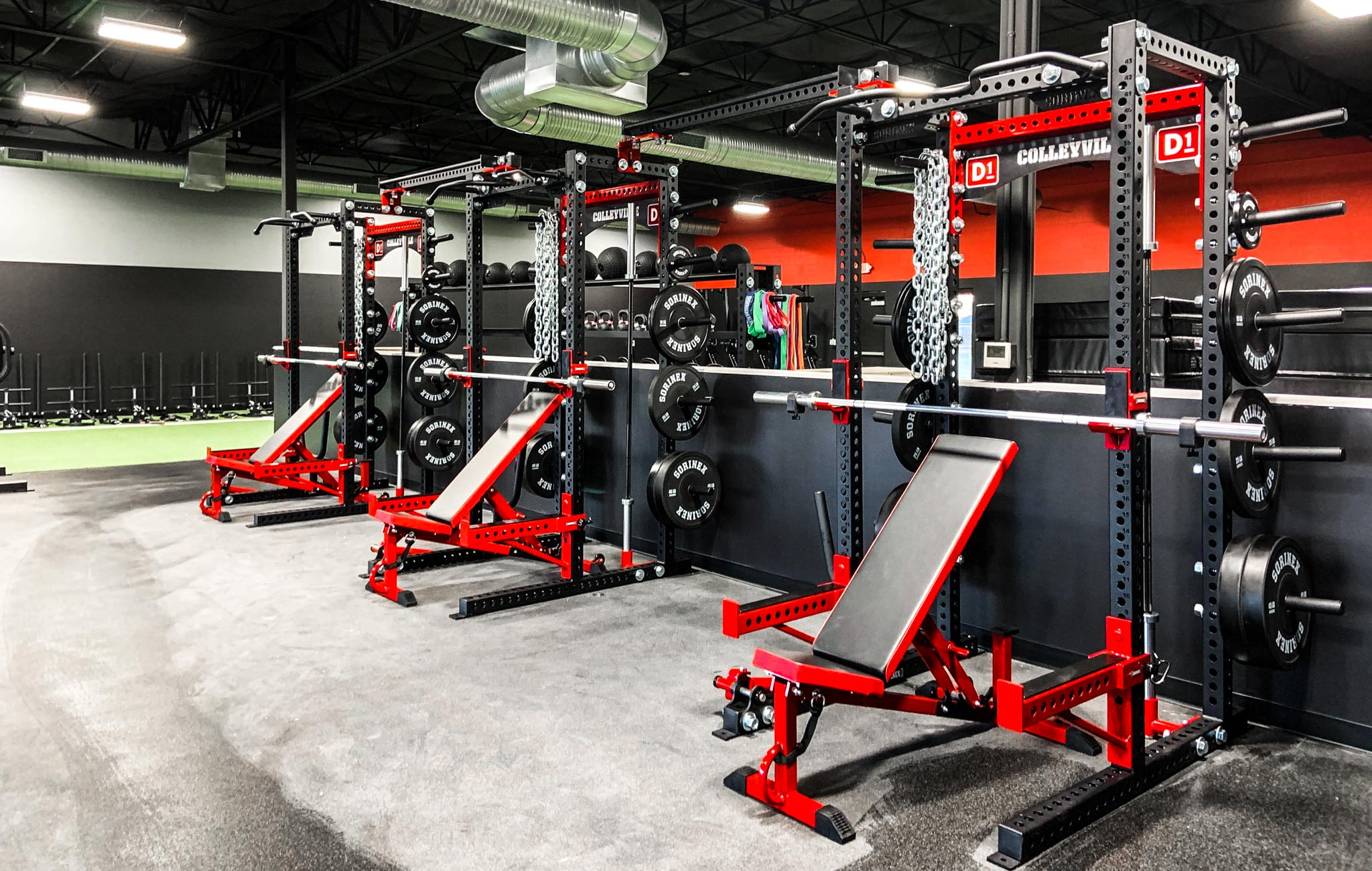 D1 Colleyville weight room