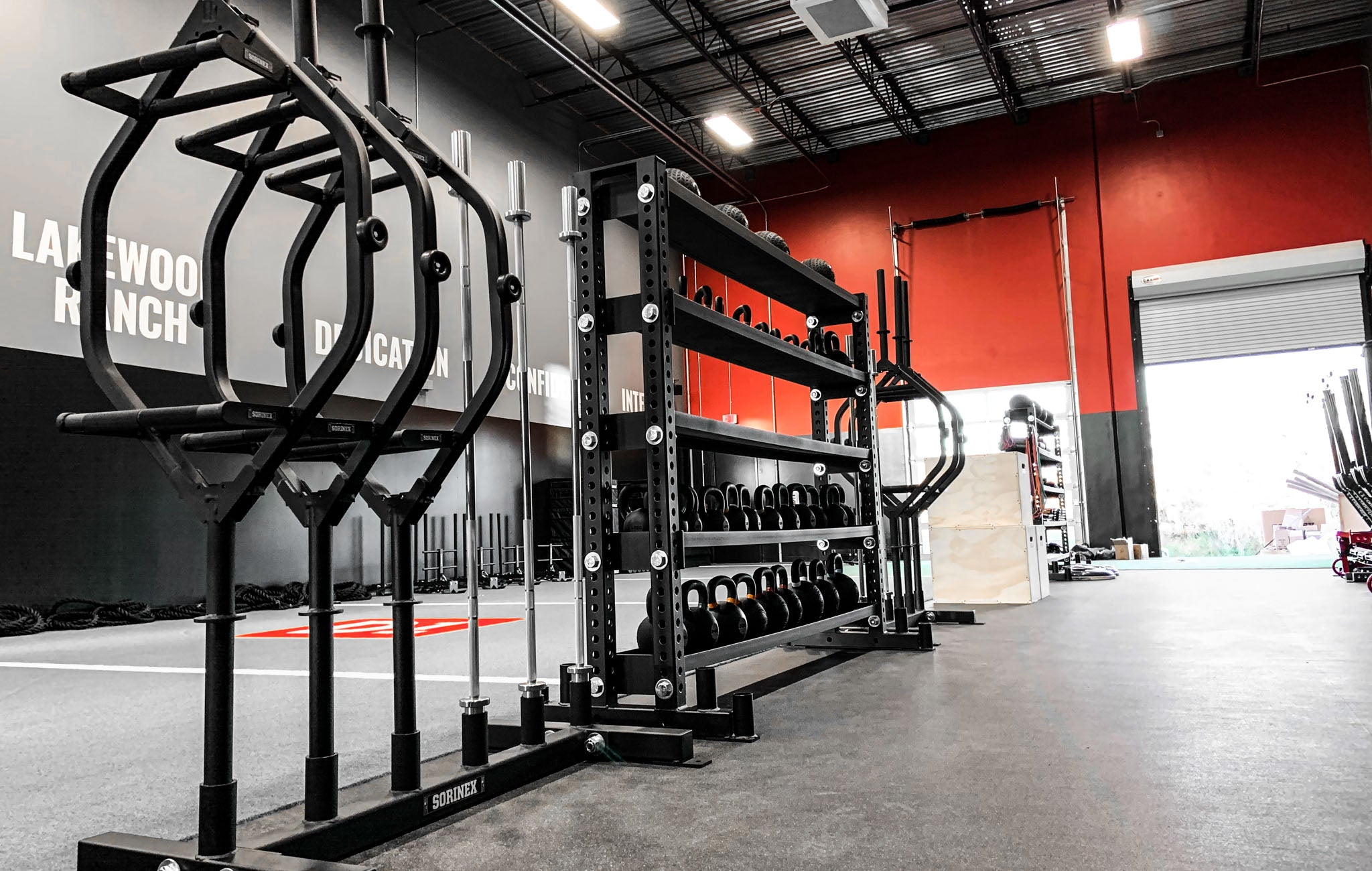 D1 Lakewood Ranch weight room