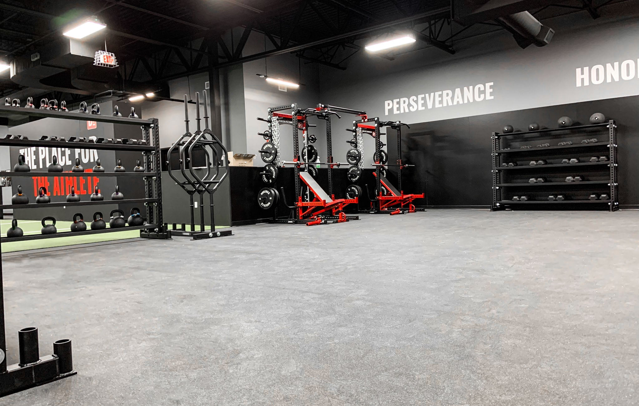 D1 Pittsburgh Weight Room