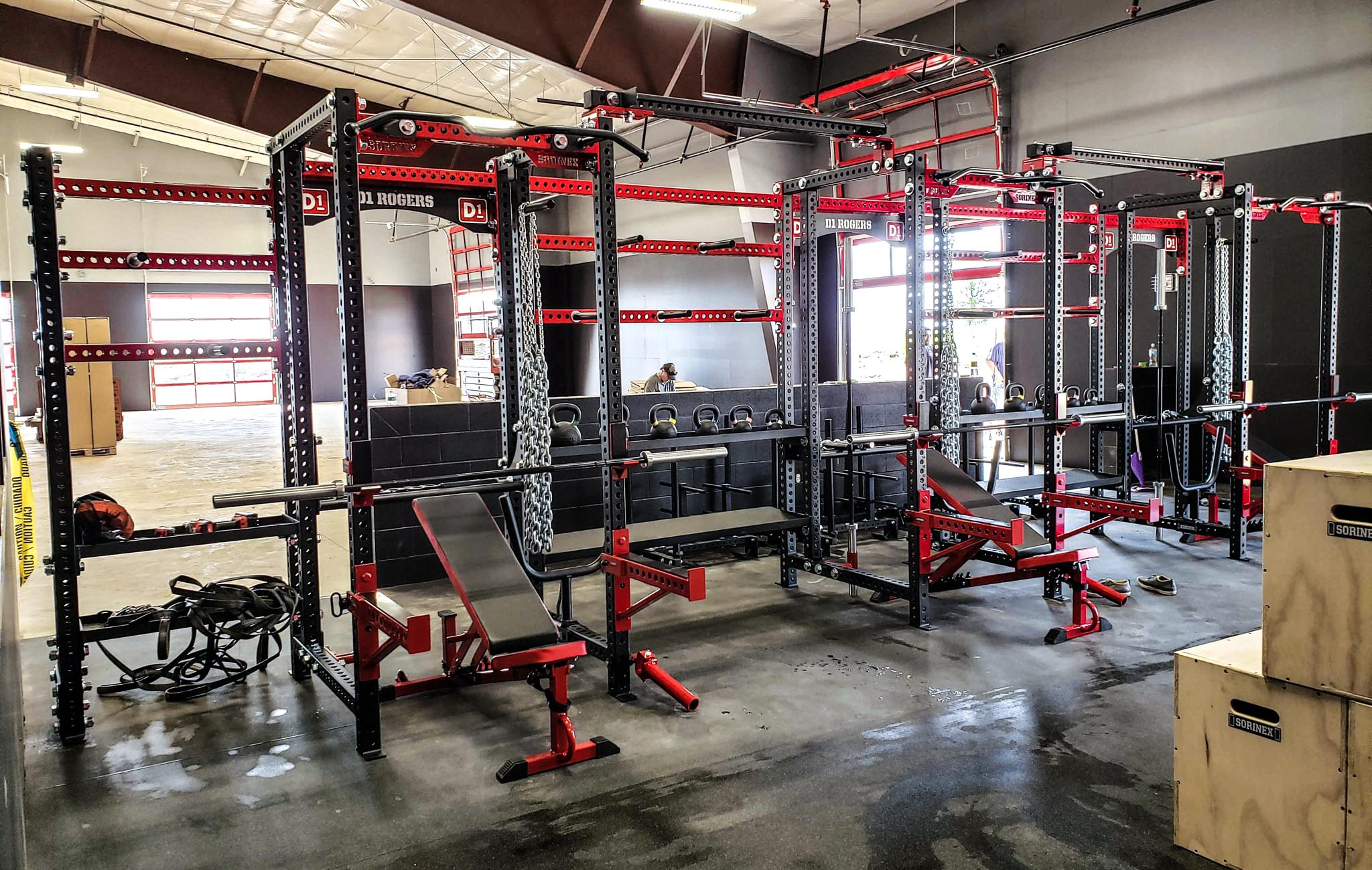 D1 Rogers Weight Room