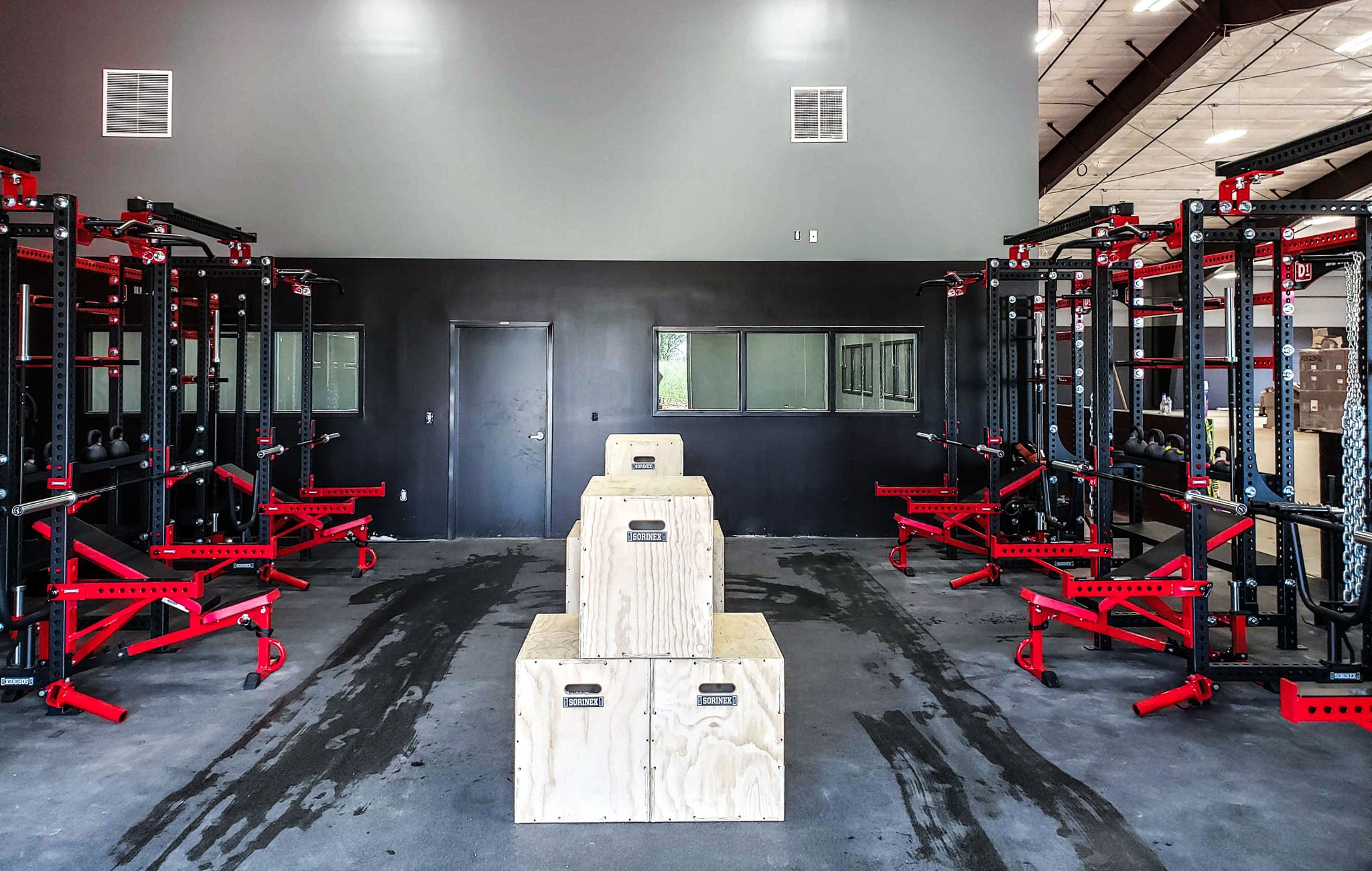 Sorinex private training facilities