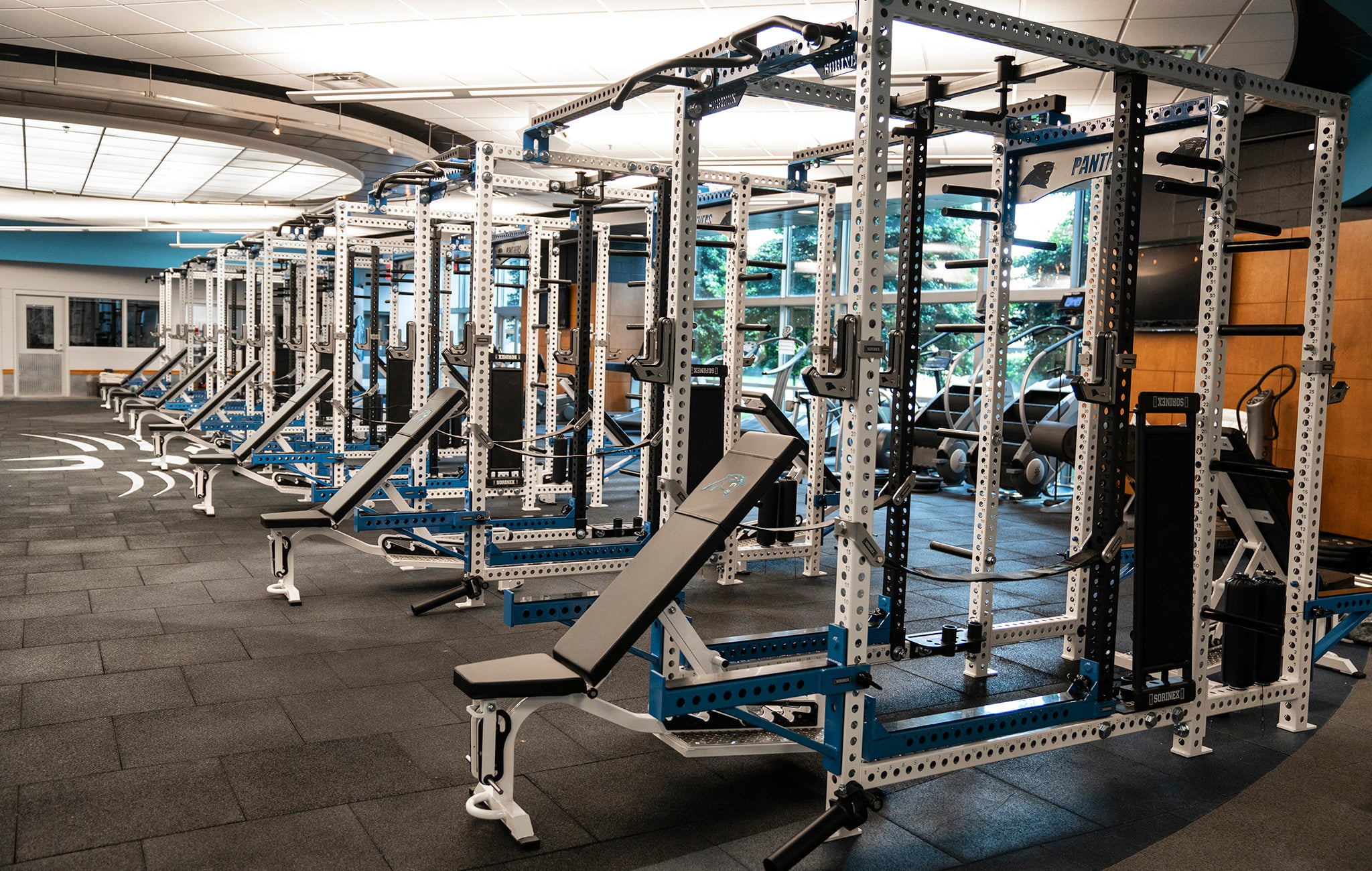 Carolina Panthers Strength and Conditioning Facility