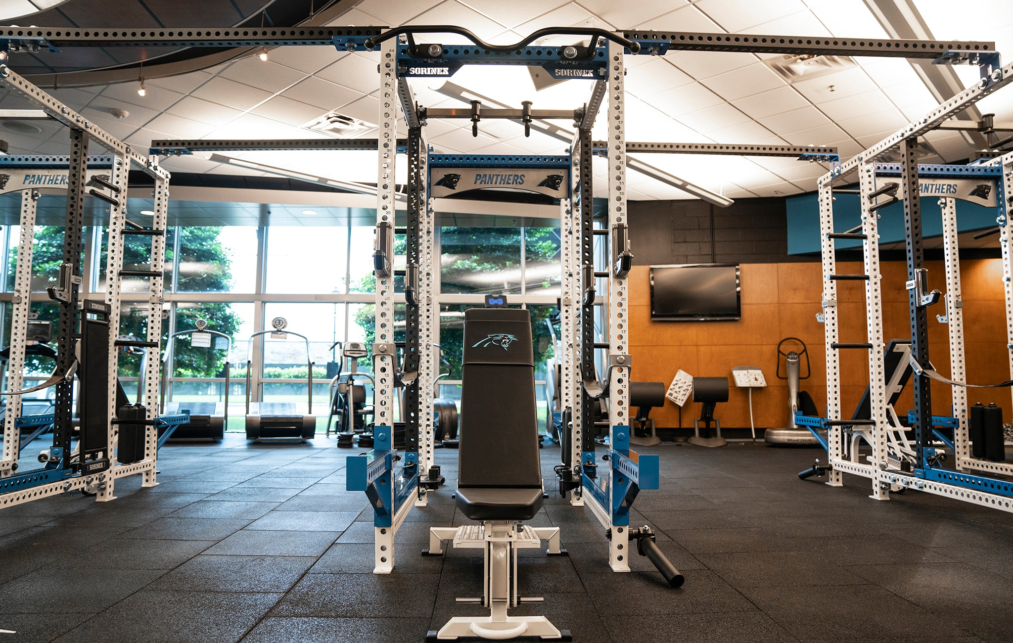 Carolina Panthers Weight Room