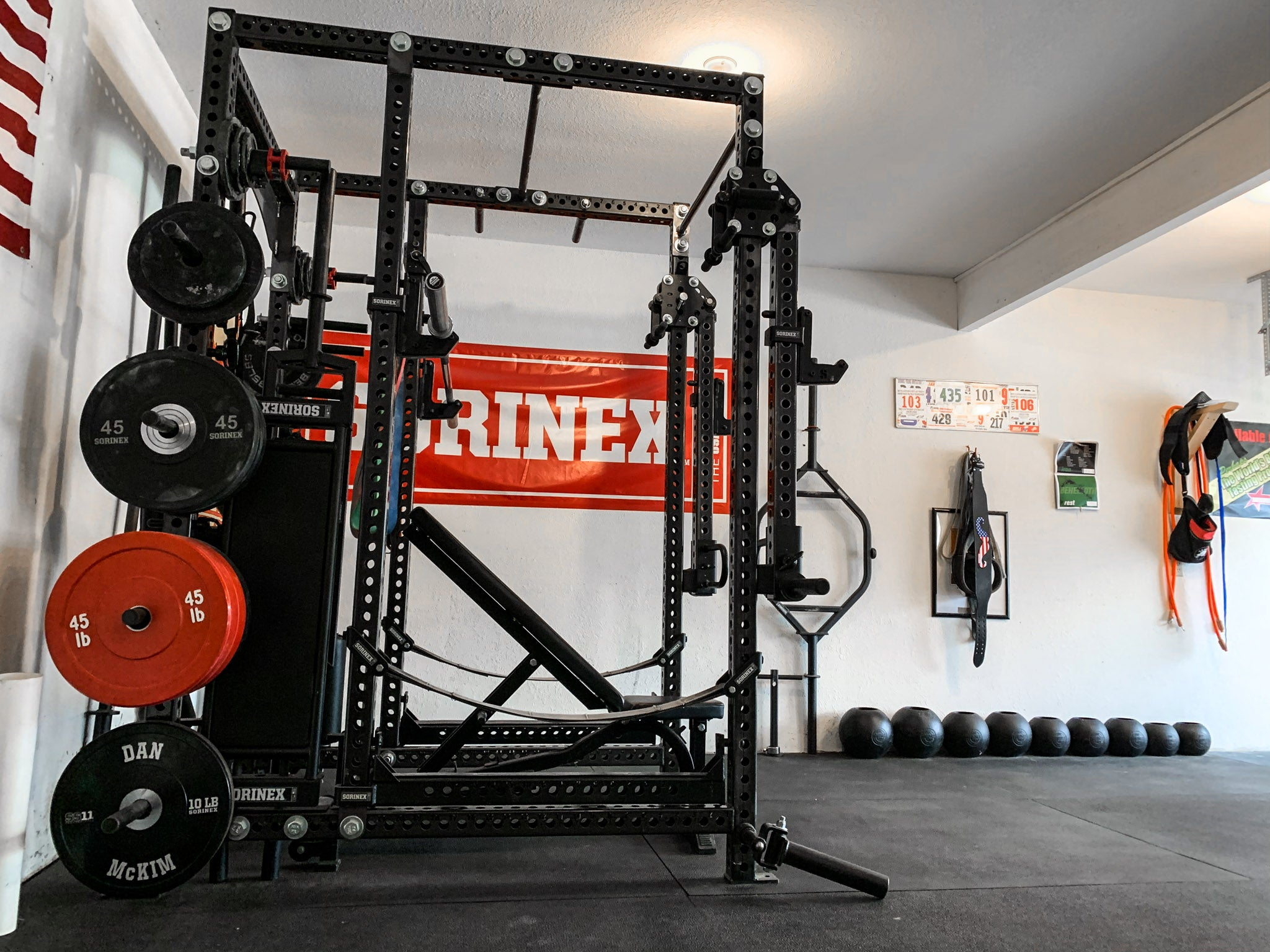 Dan Mckim Garage Gym