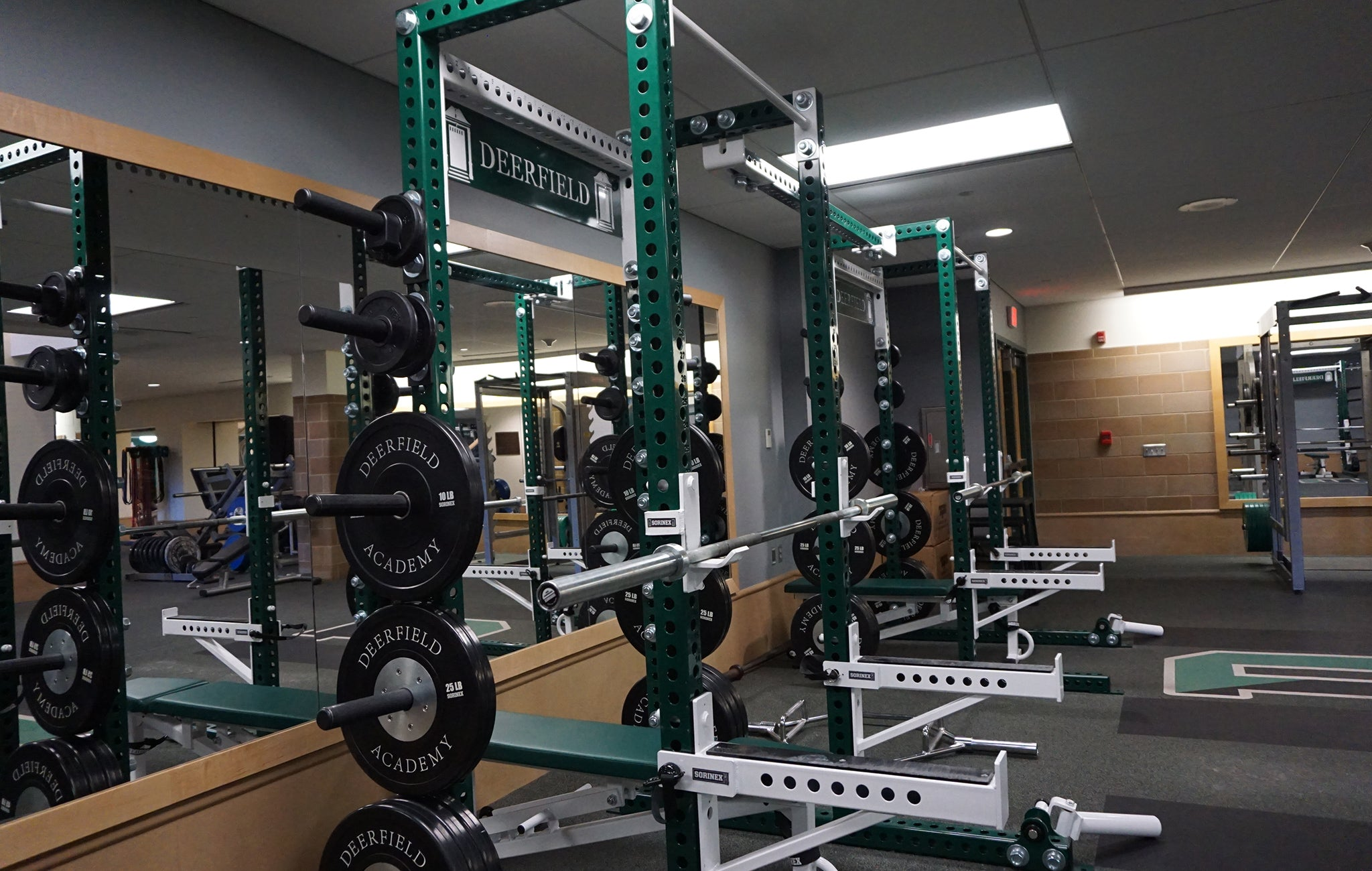 Deerfield High school strength and conditioning