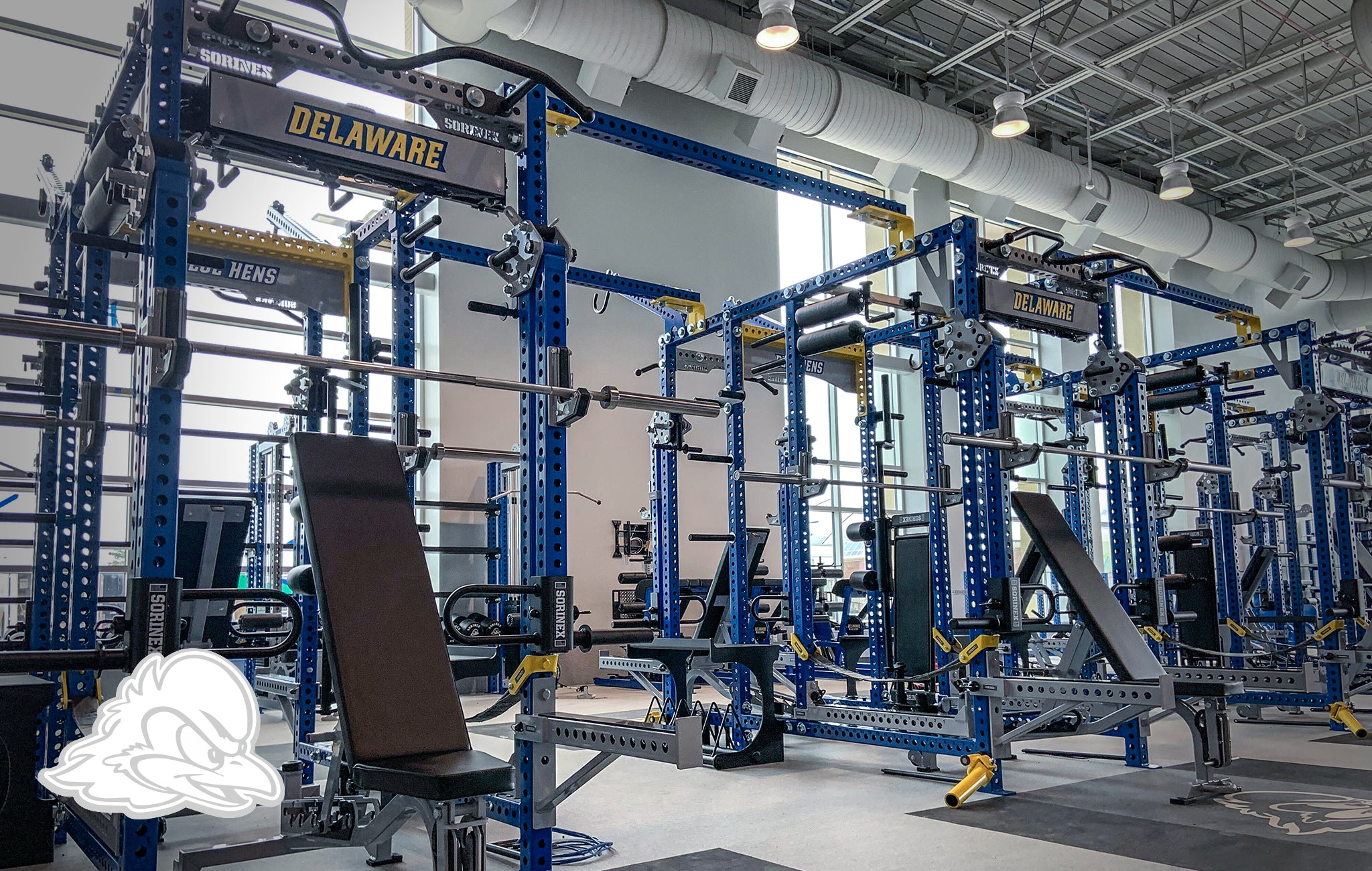 University of Delaware Sorinex strength and conditioning facility