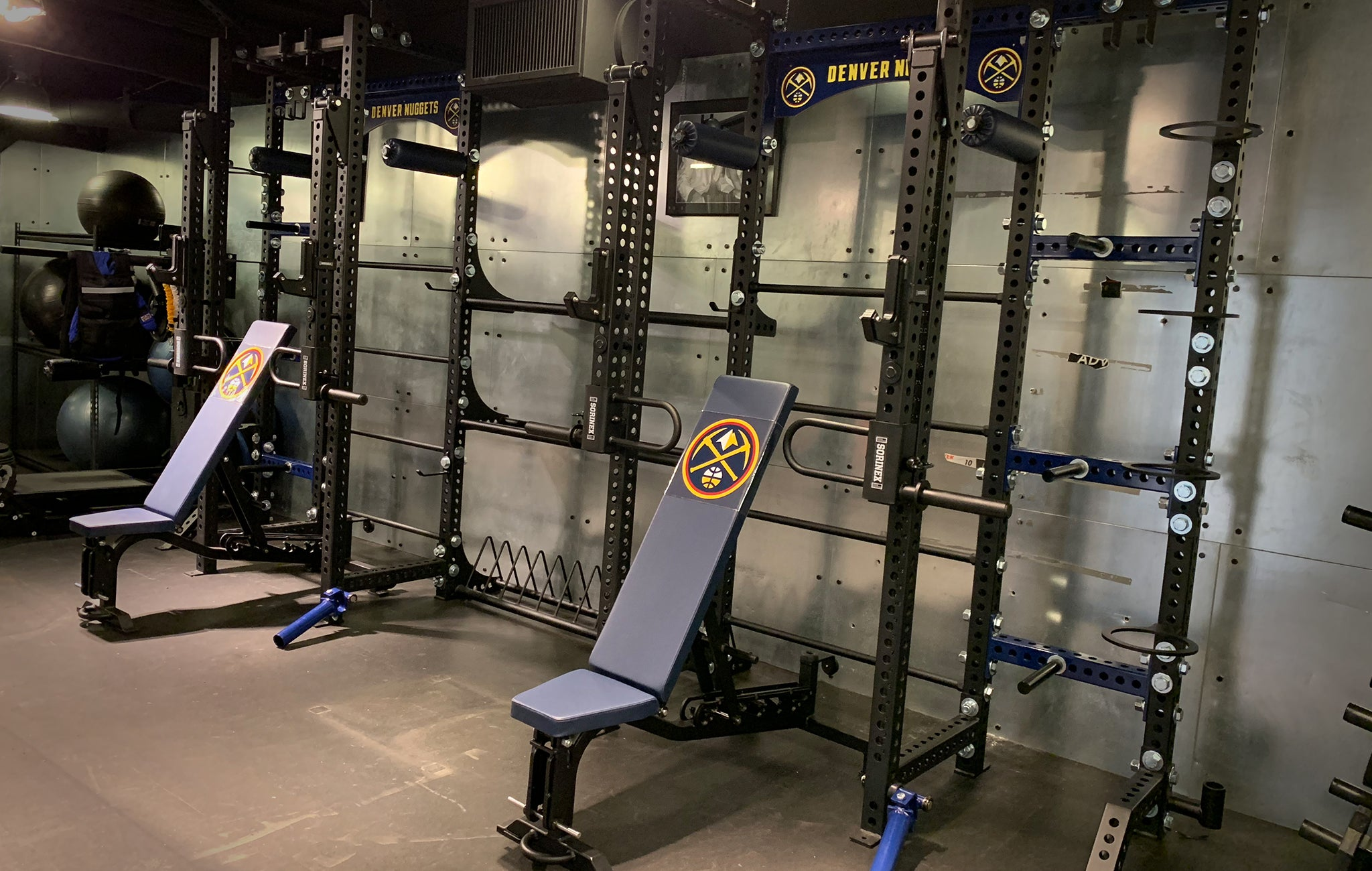Denver Nuggets Weight Room