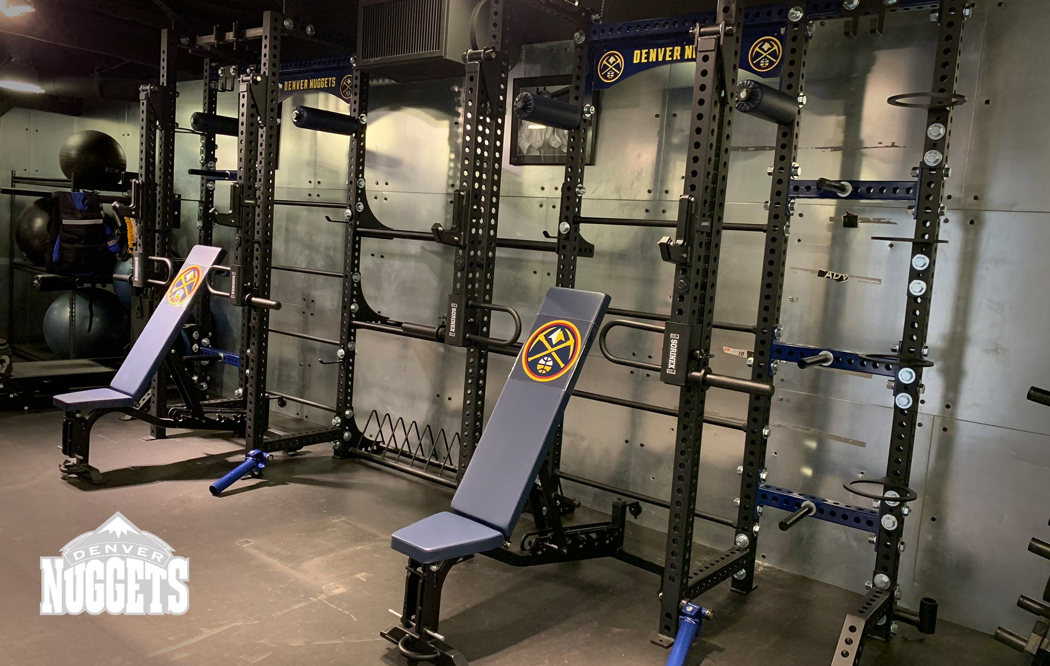 Denver Nuggets Sorinex strength and conditioning facility
