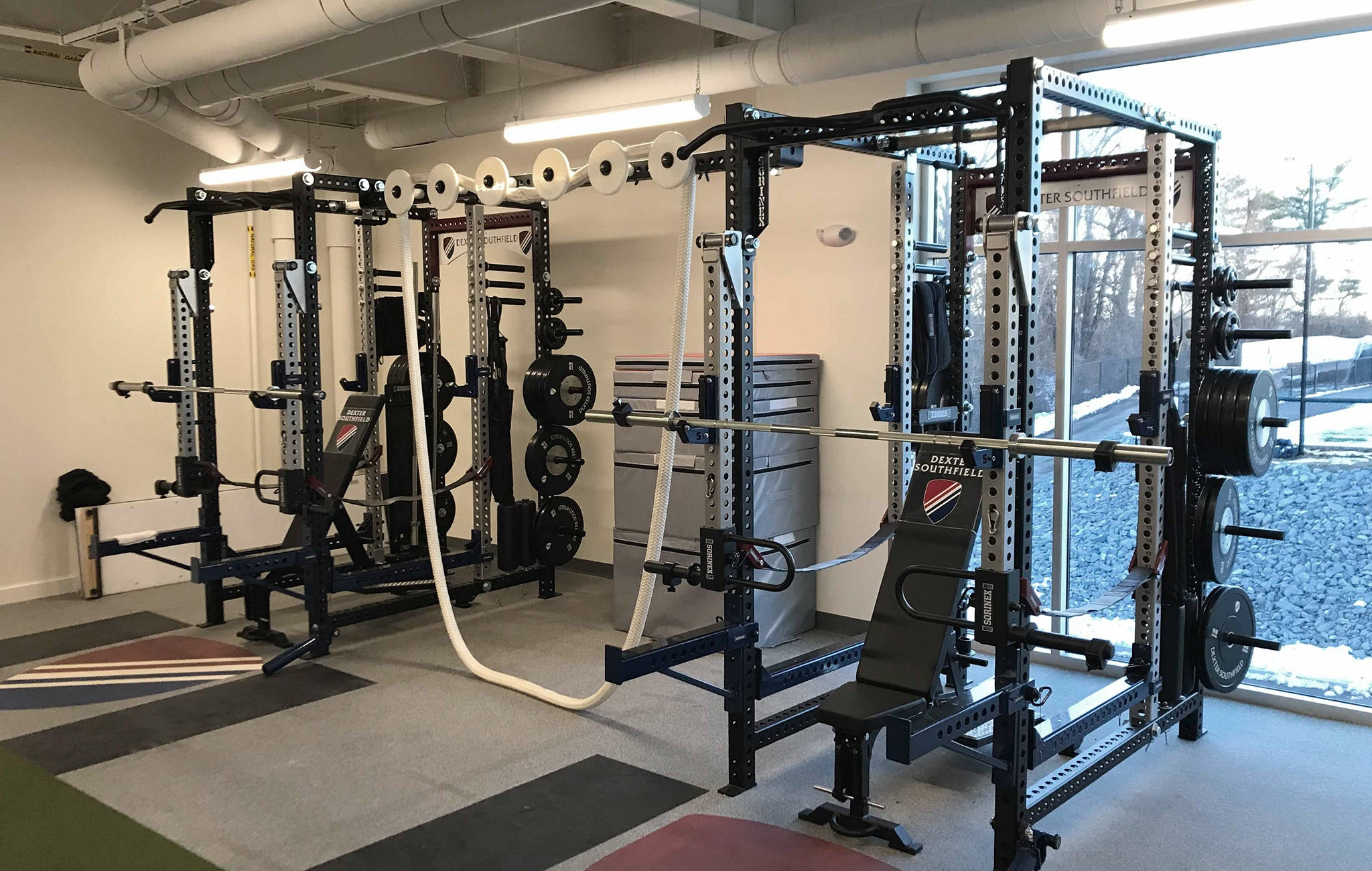 Dexter Southfield strength and conditioning