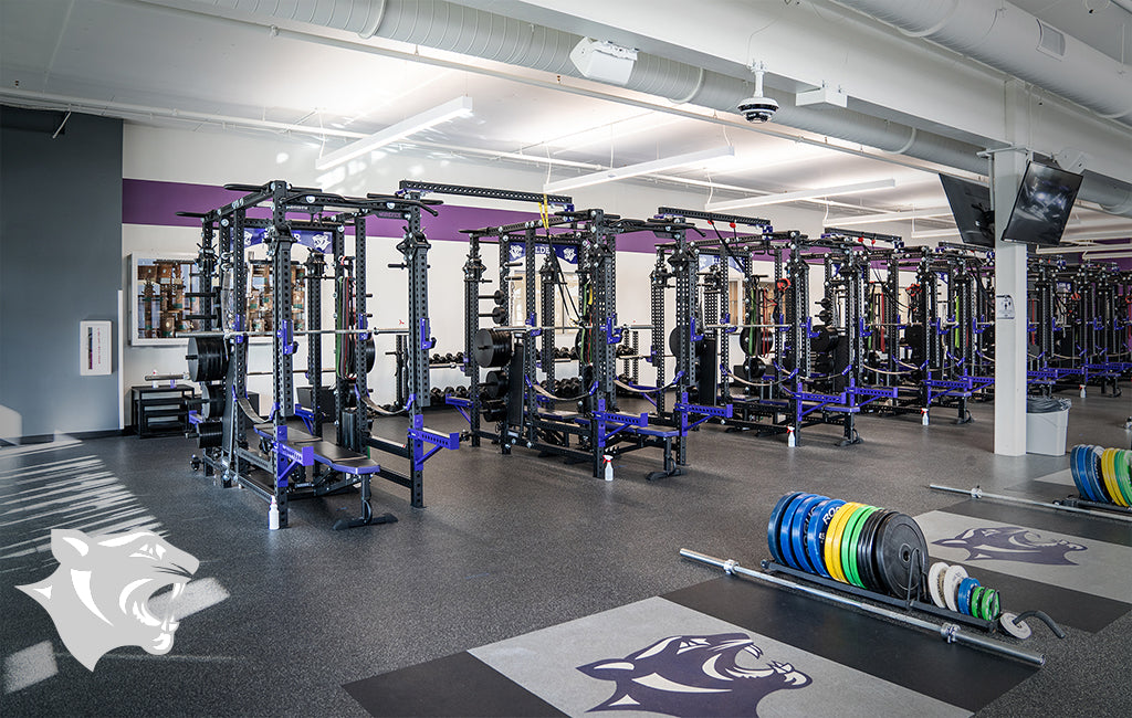 Elder High School Sorinex strength and conditioning facility