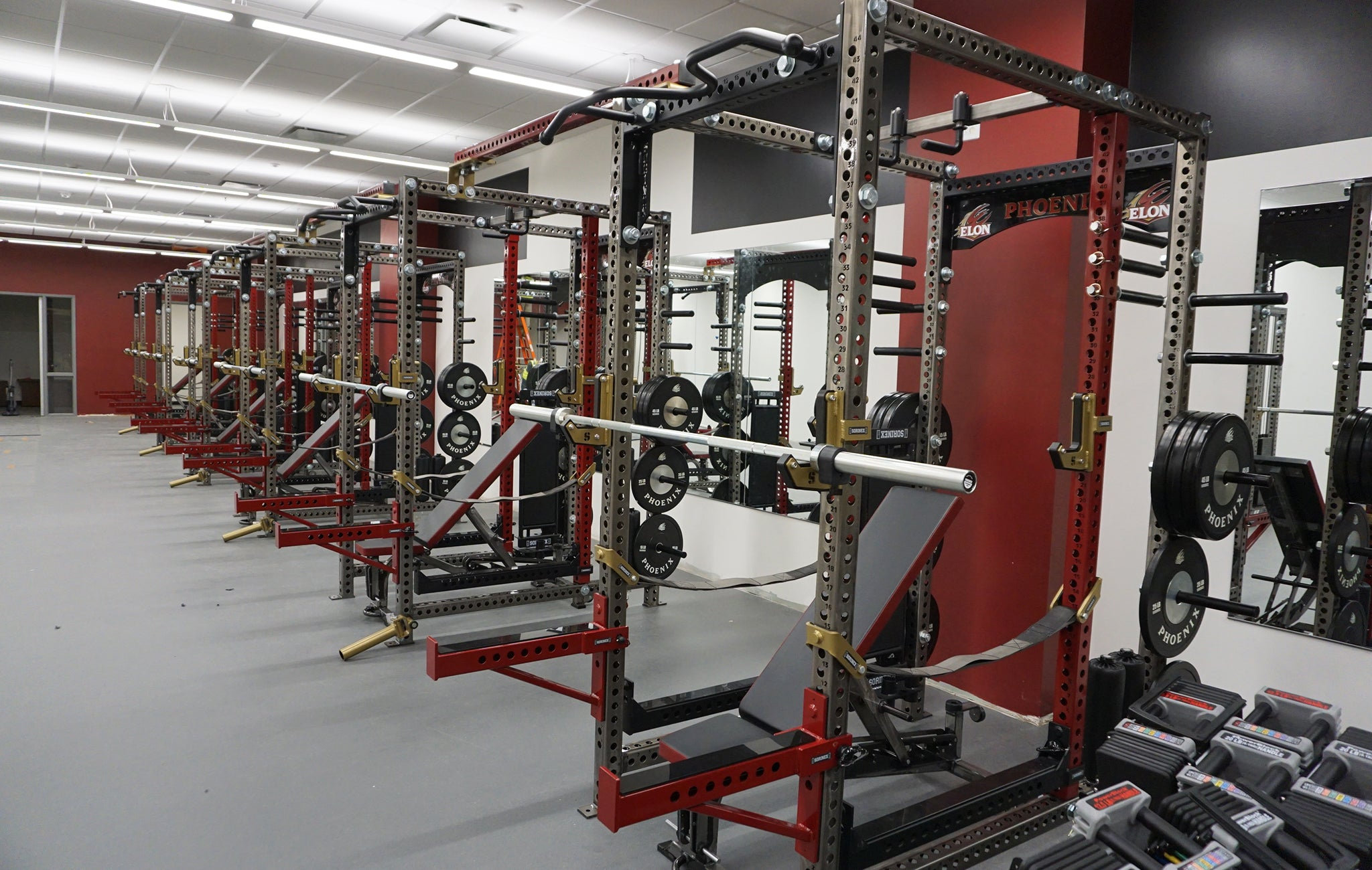 Elon University Weight Room