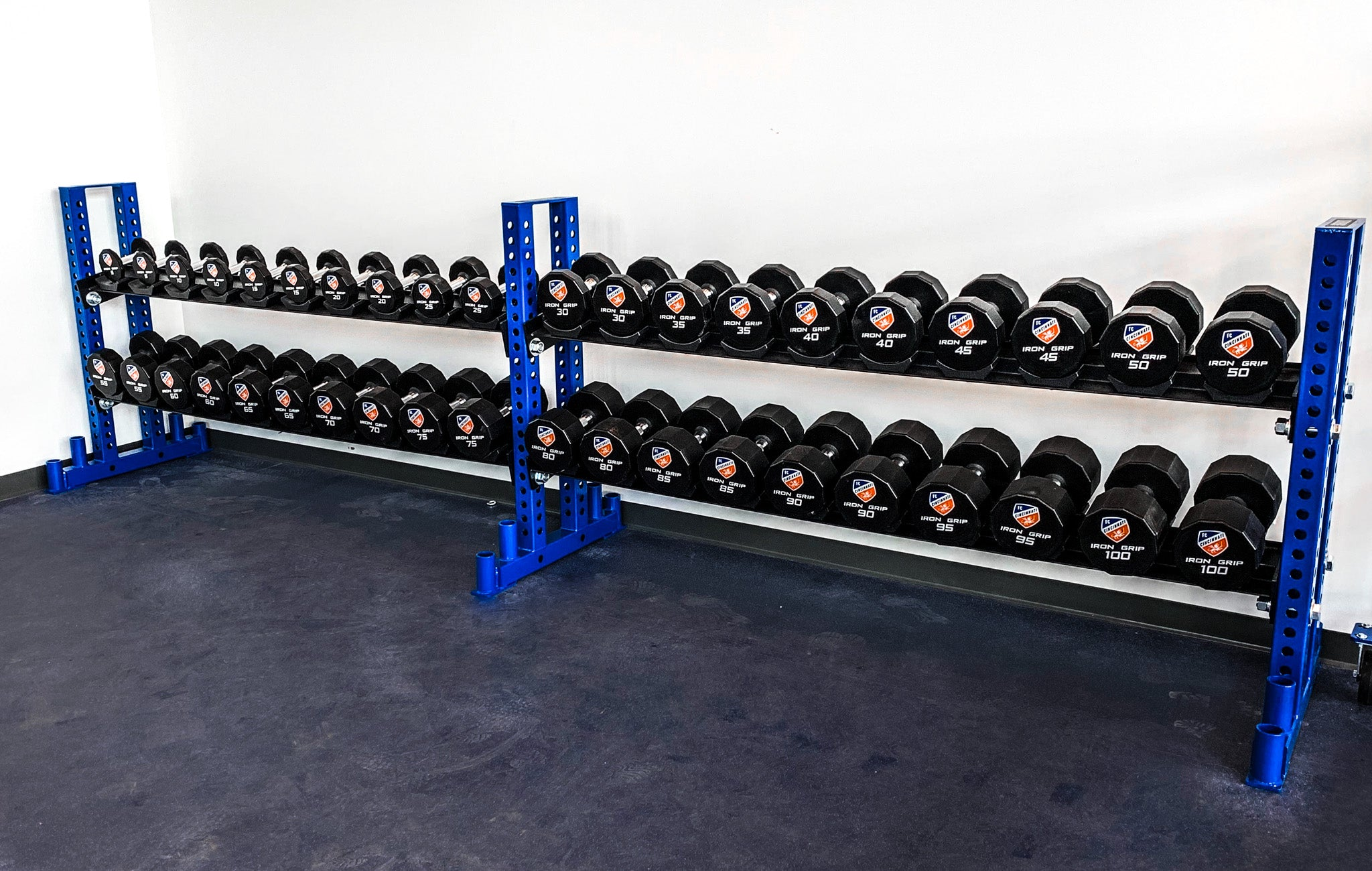 FC Cincinnati weight training