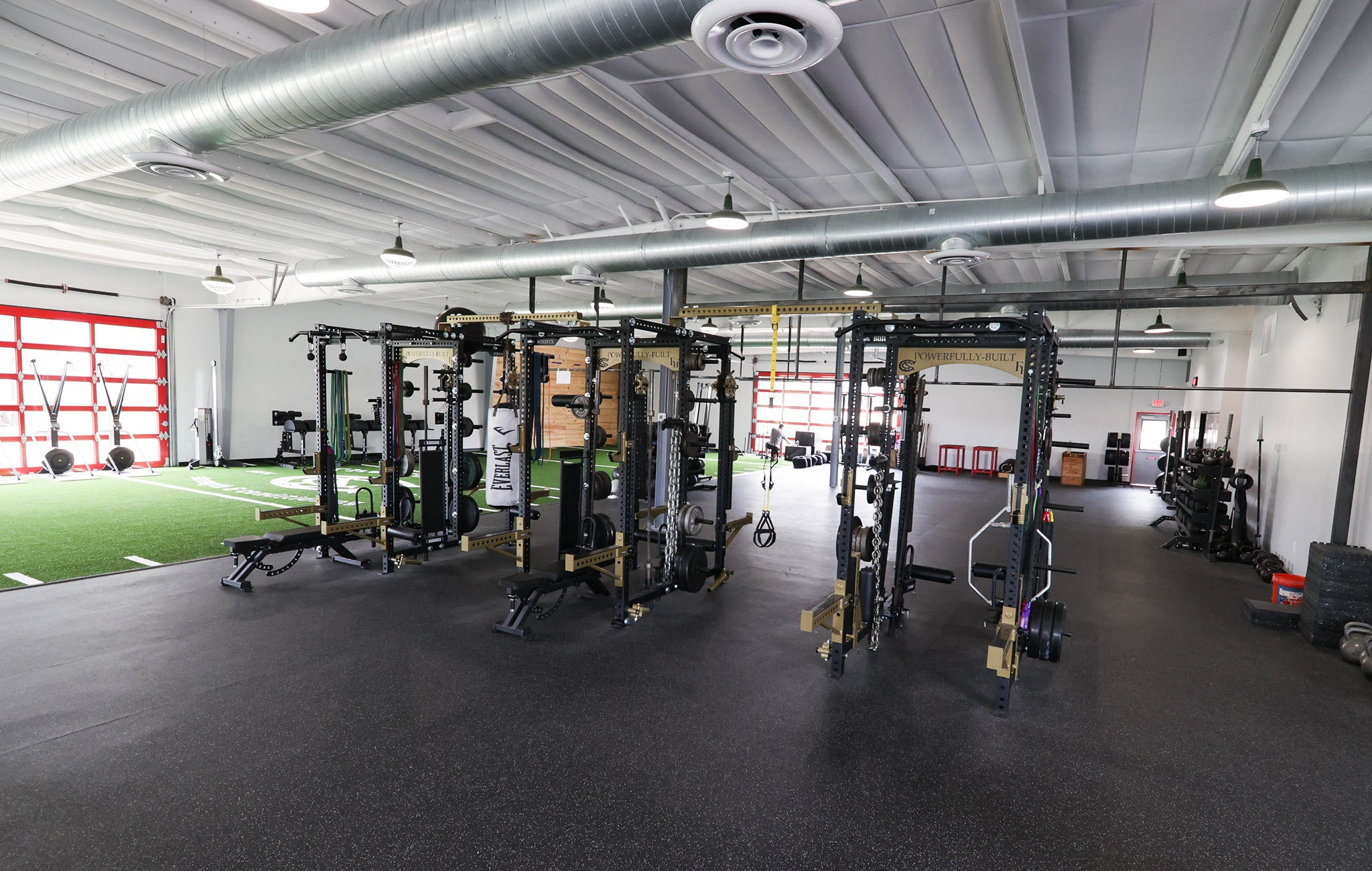 The FieldHouse Texas Weight Room Facility