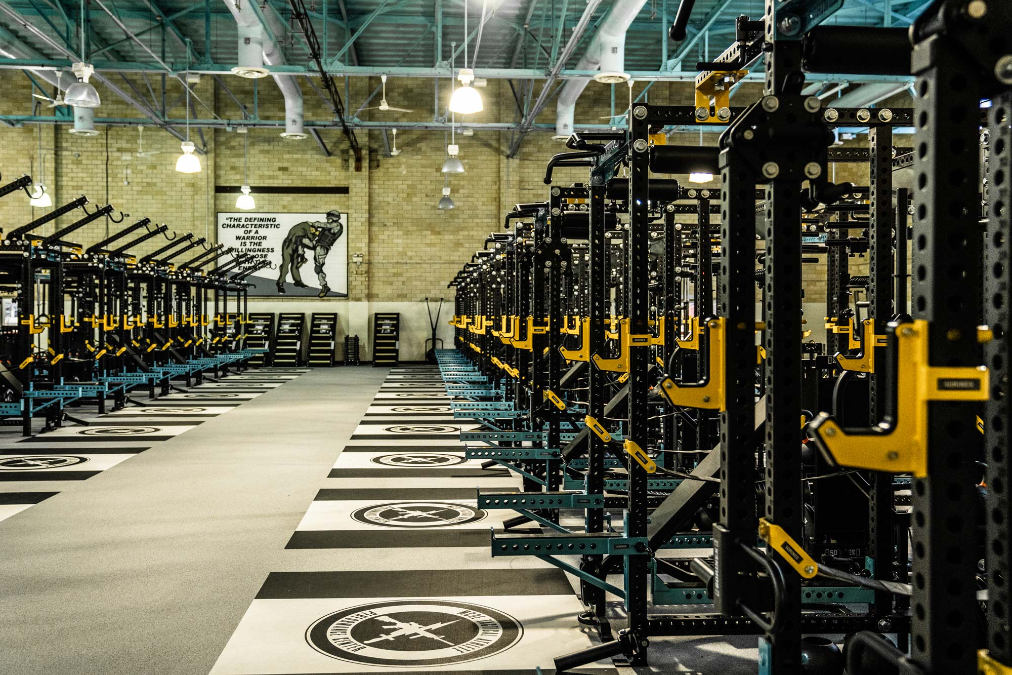 Fort Benning Strength and conditioning facility by Sorinex