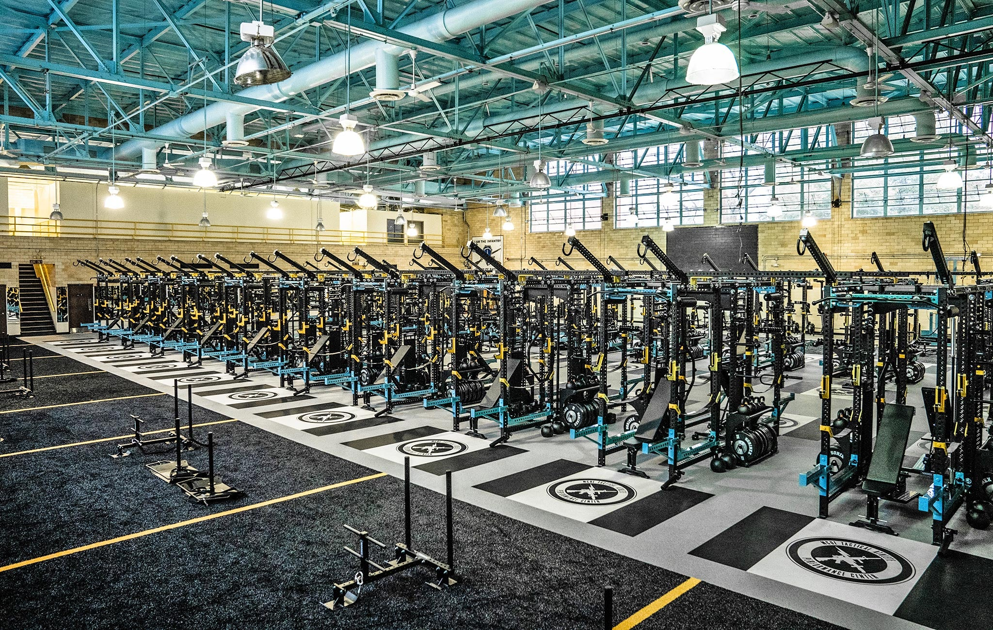 Sorinex US Military Weight Room