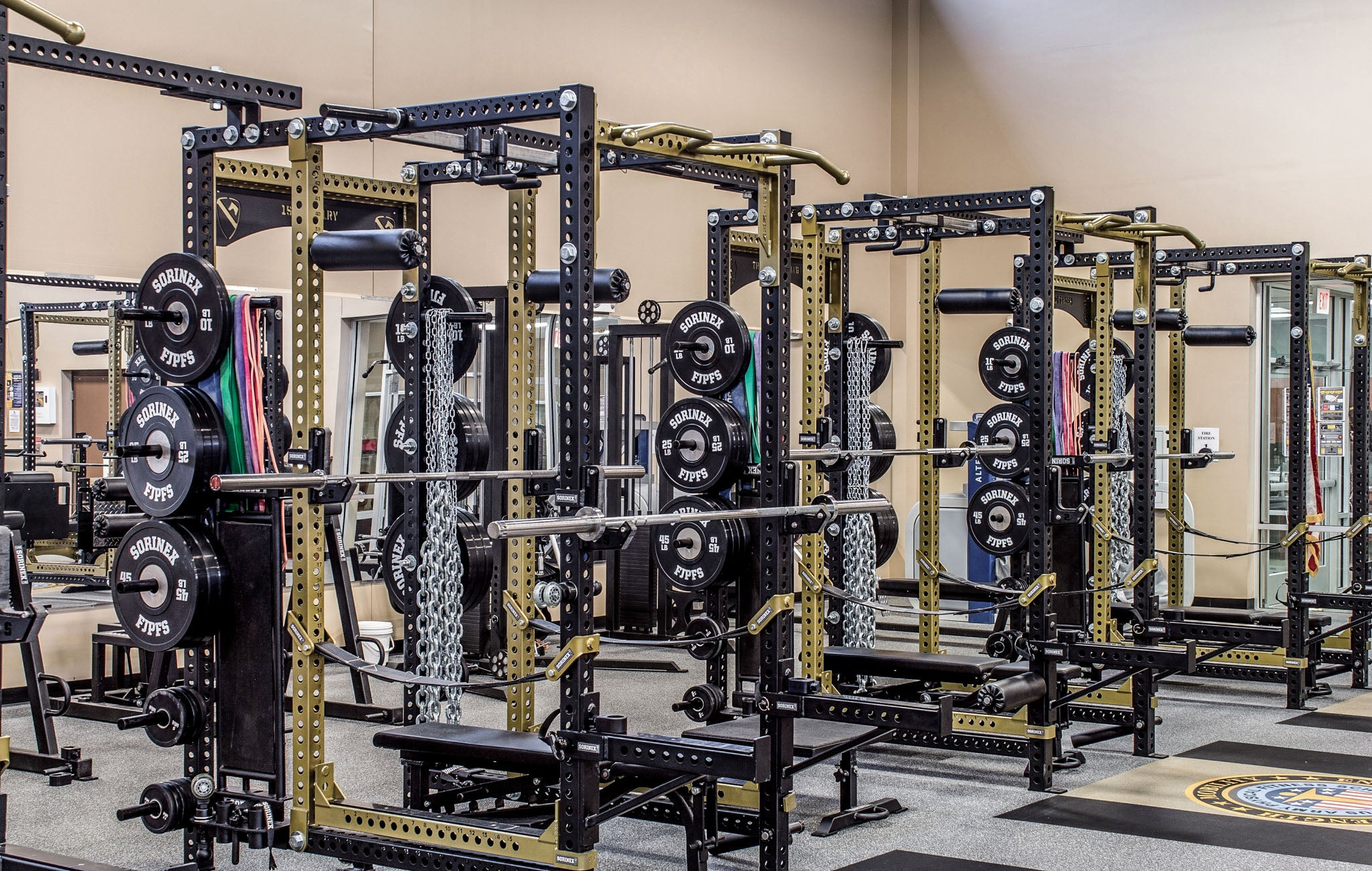 Fort Jackson Military Weight Room