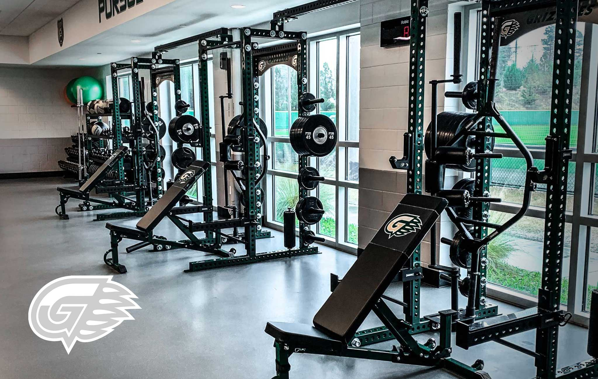 GEORGIA GWINNETT COLLEGE Sorinex strength and conditioning facility