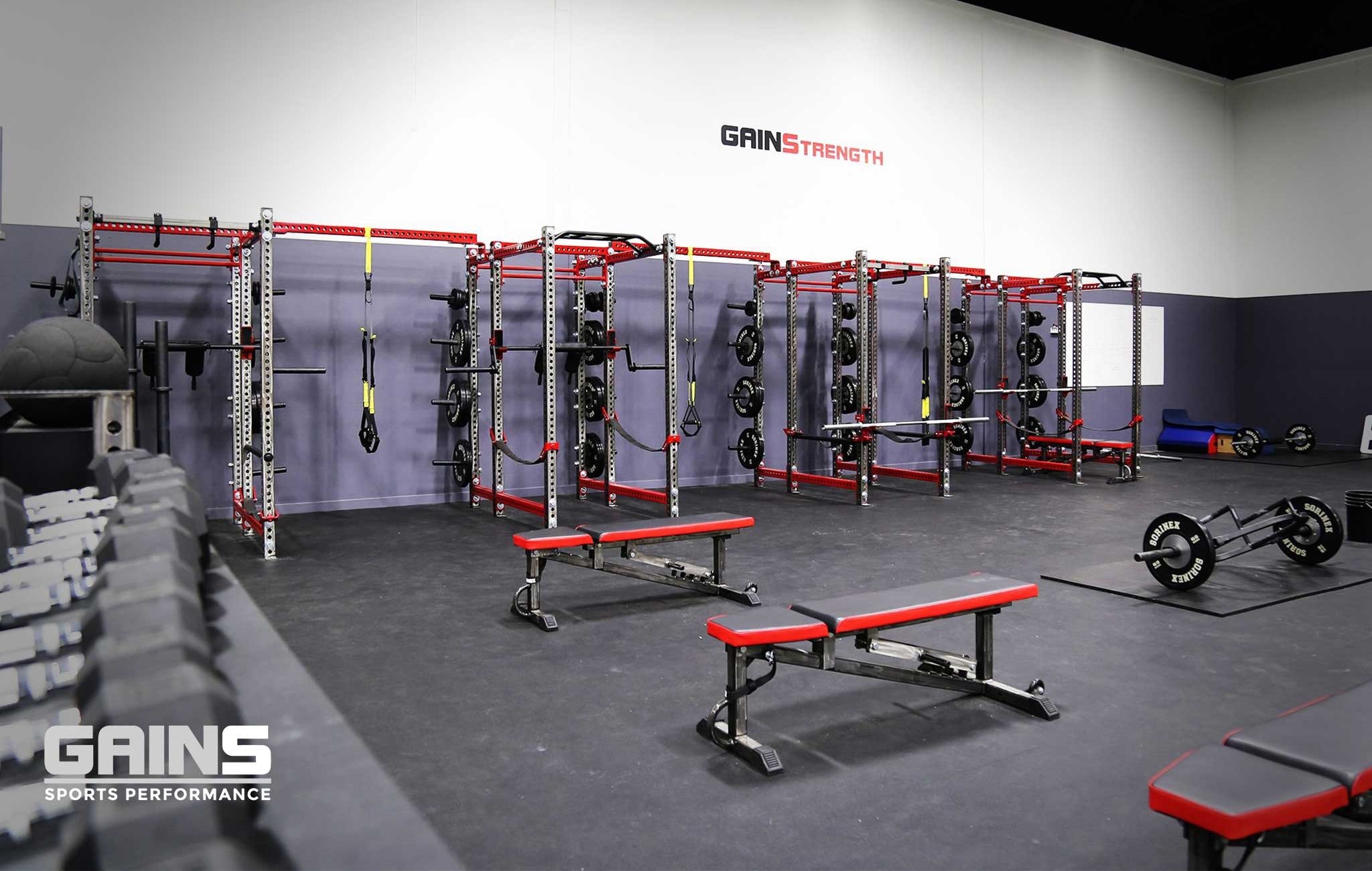Gains Performance Private Training facility Sorinex