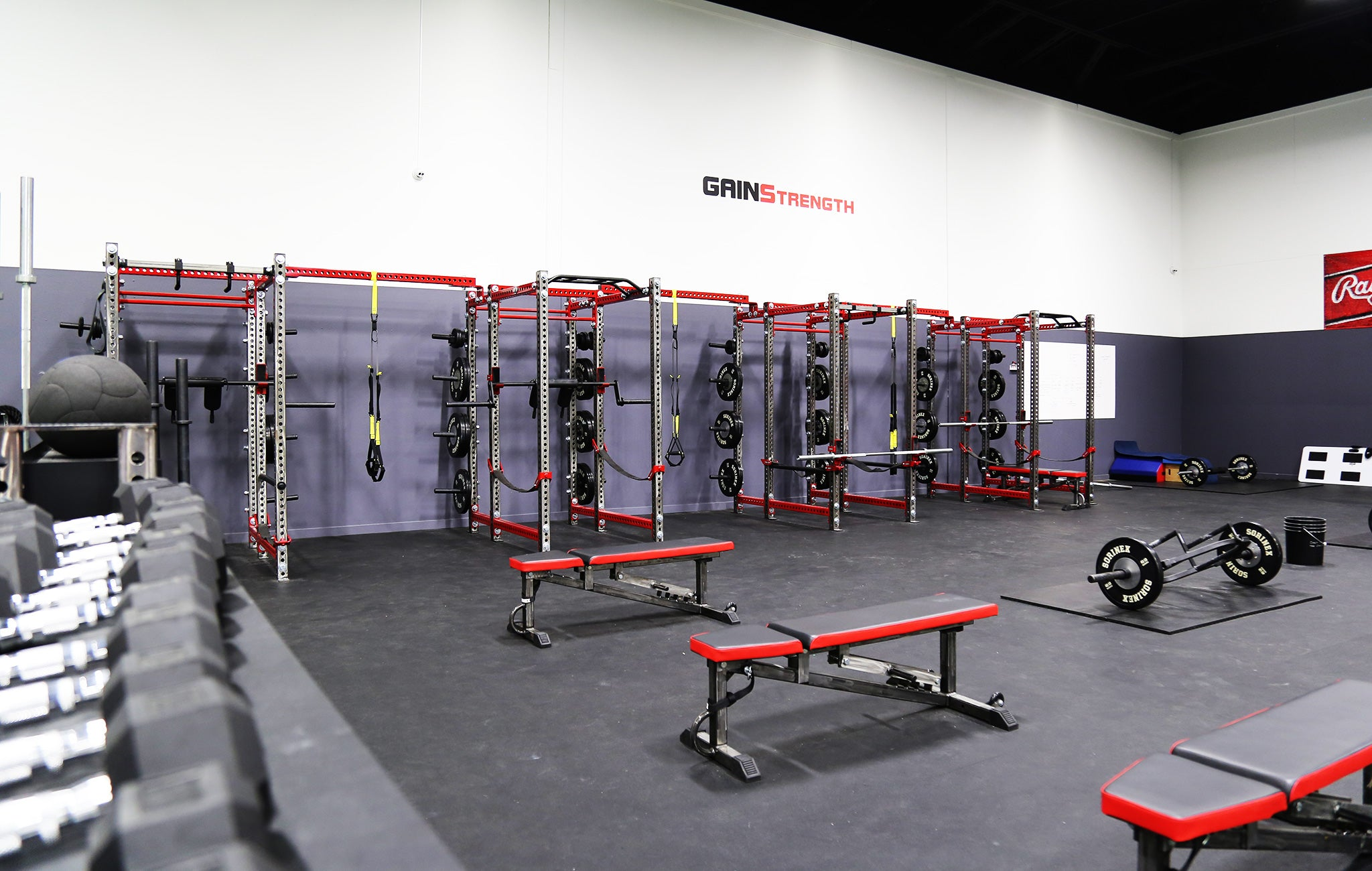 Gains Performance Weight Room