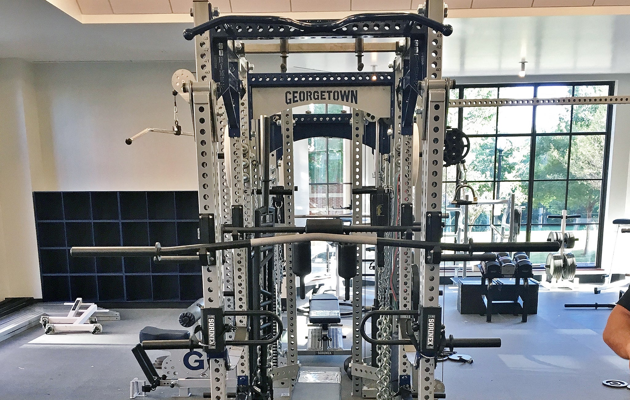 Georgetown University Olympic Weight Room