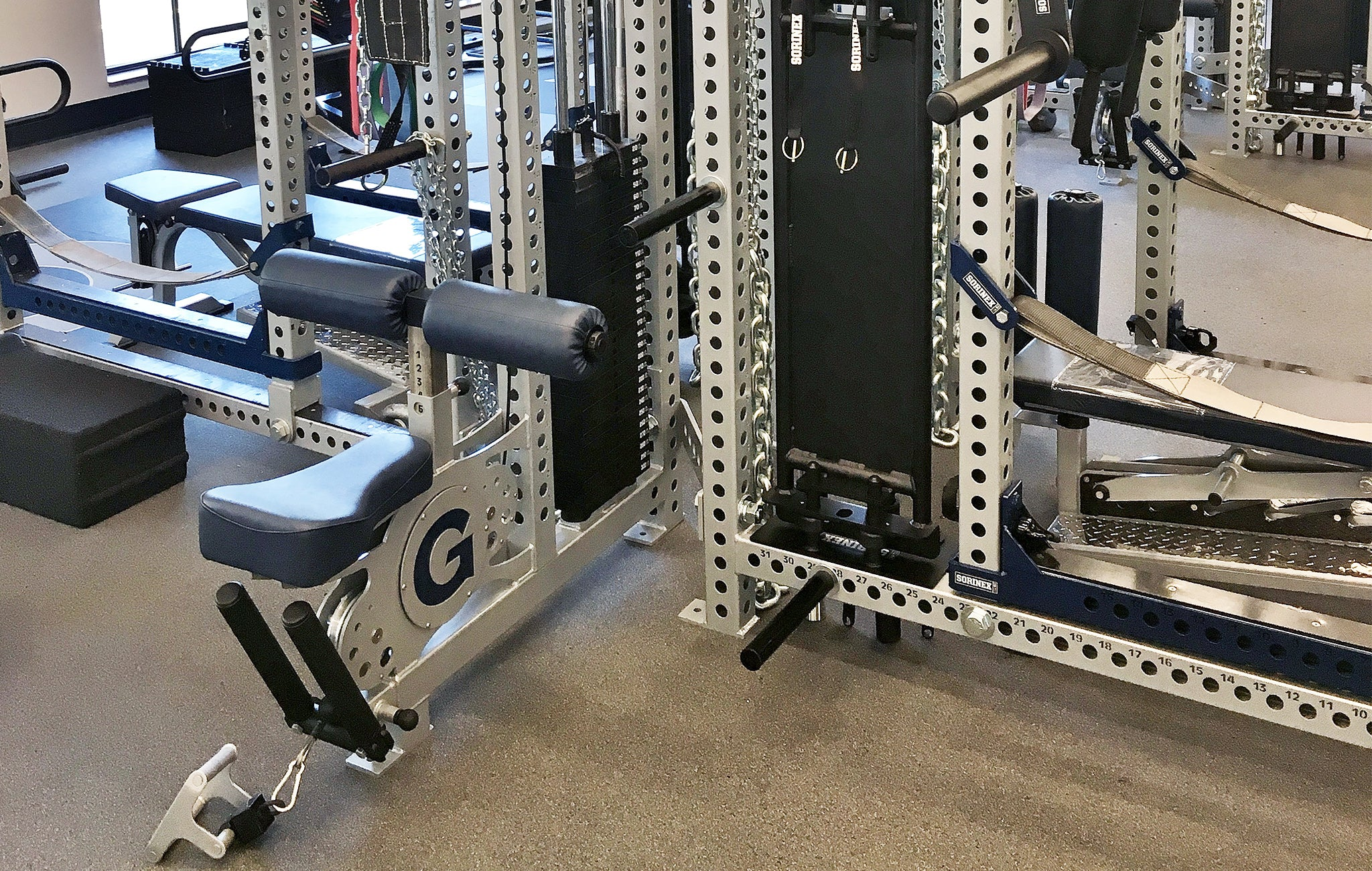 Georgetown University Olympic strength and conditioning