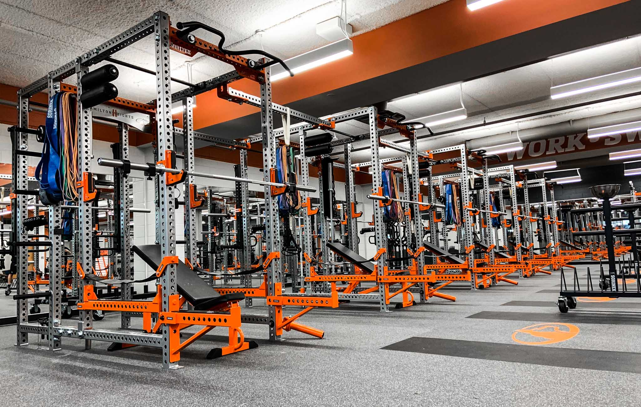 Hamilton Height High School Weight Room