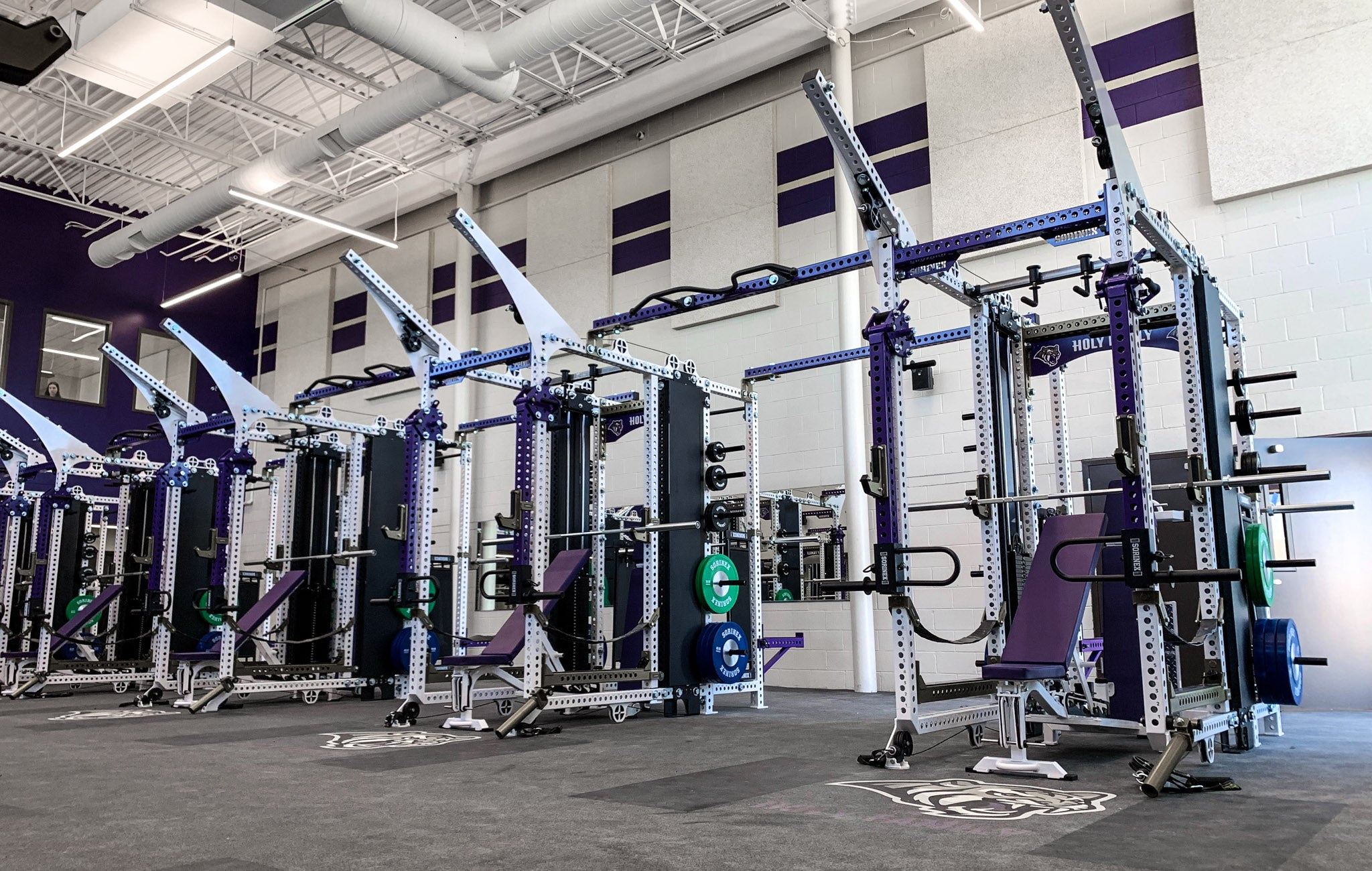Holy Family High School strength and conditioning
