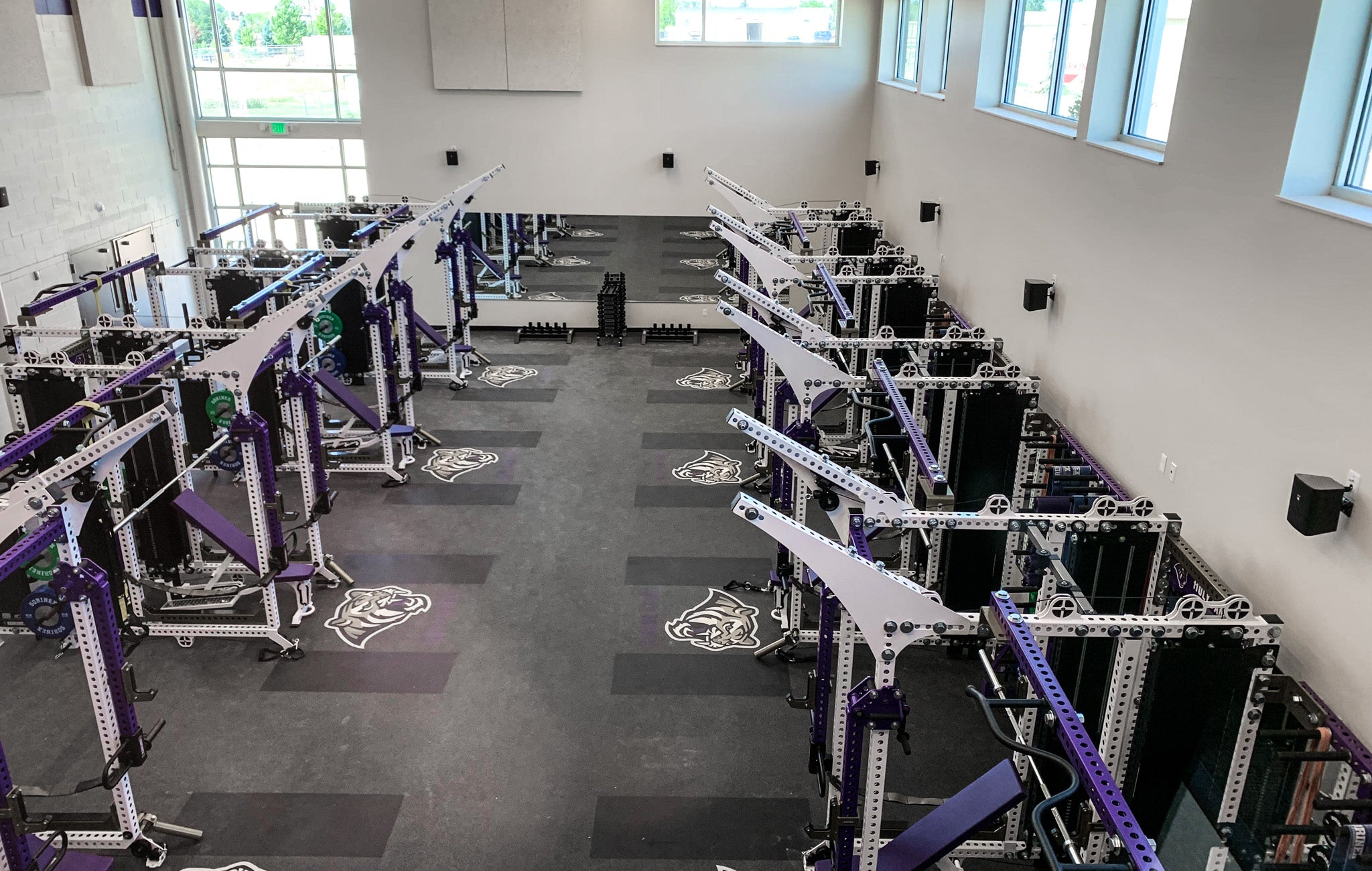 Holy Family High School Weight Room