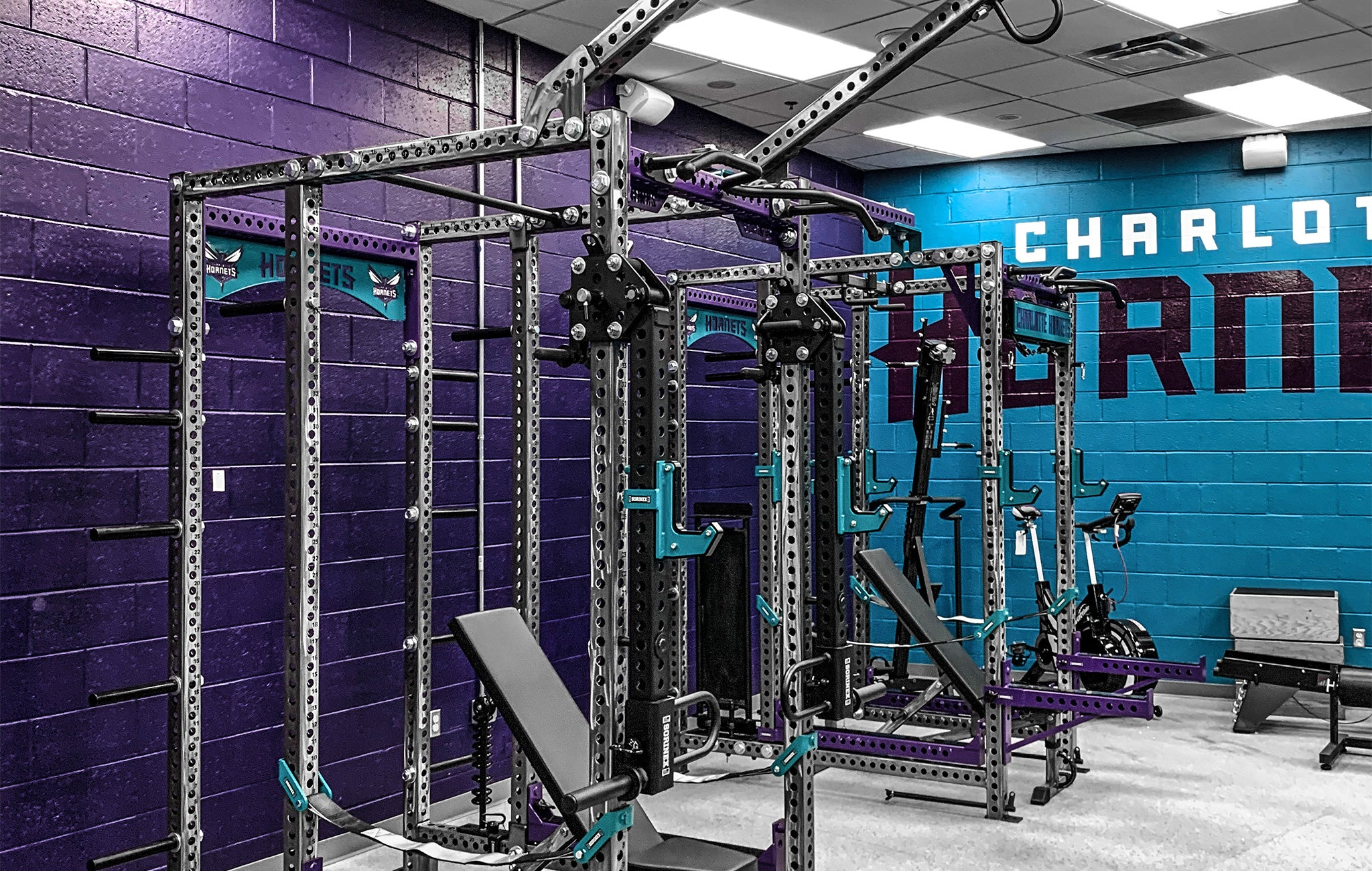 Charlotte Hornets Weight Room
