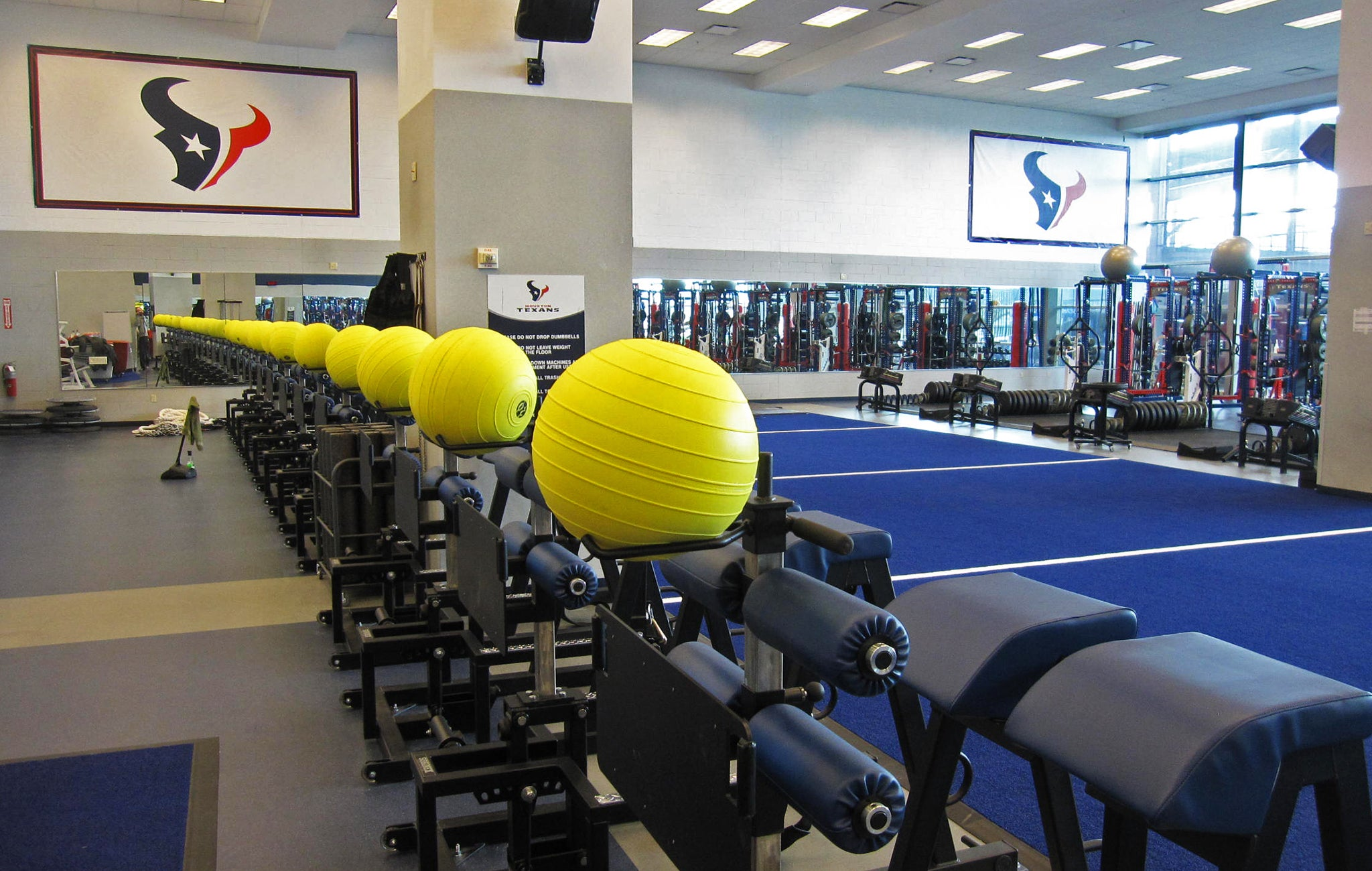 Houston Texans strength training