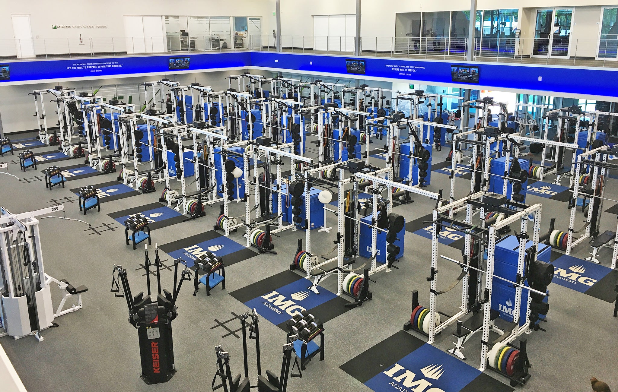 IMG Academy Weight Room