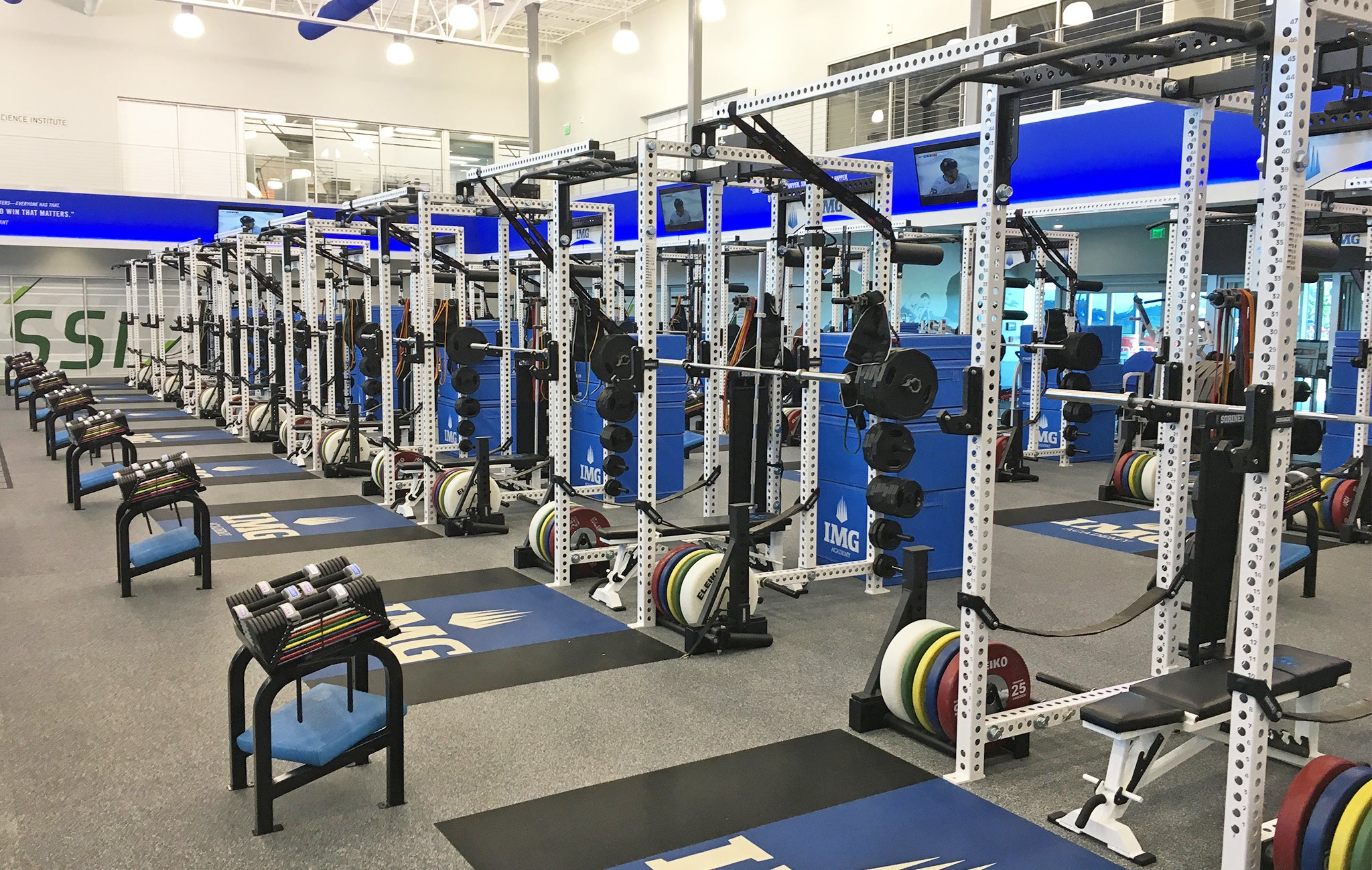 IMG Academy strength and conditioning