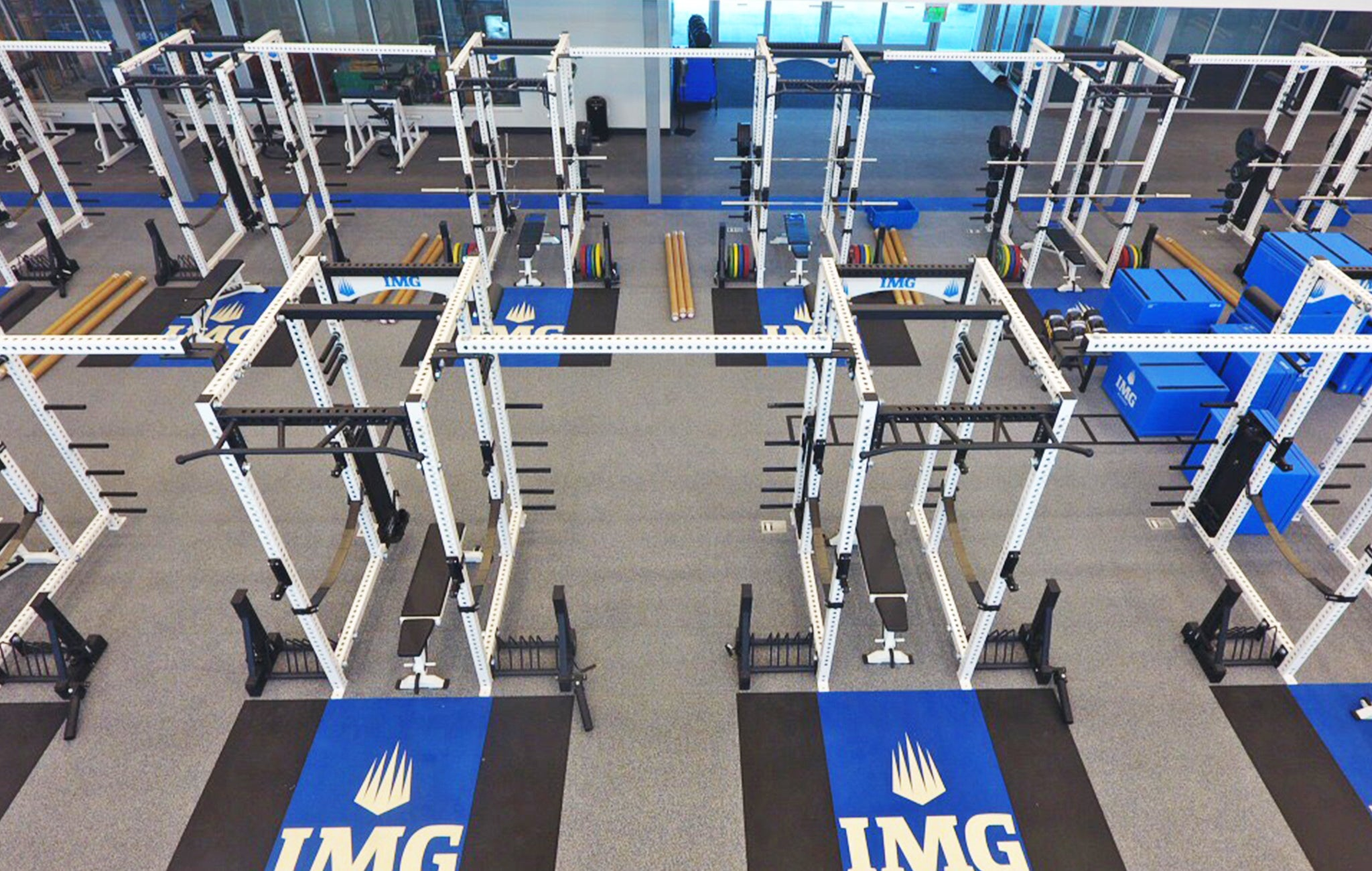 IMG Academy strength training facility