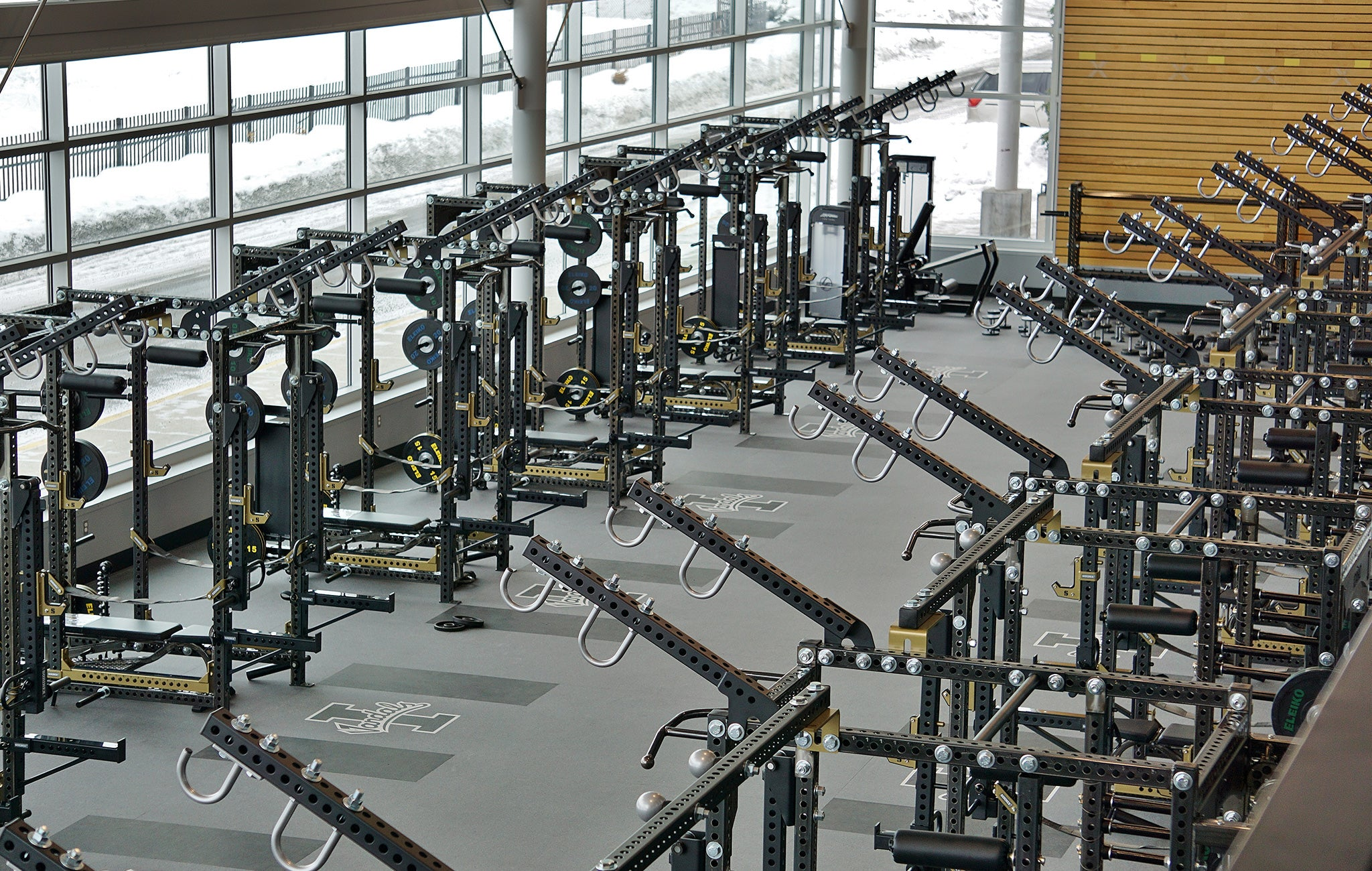 University of Idaho Weight Room