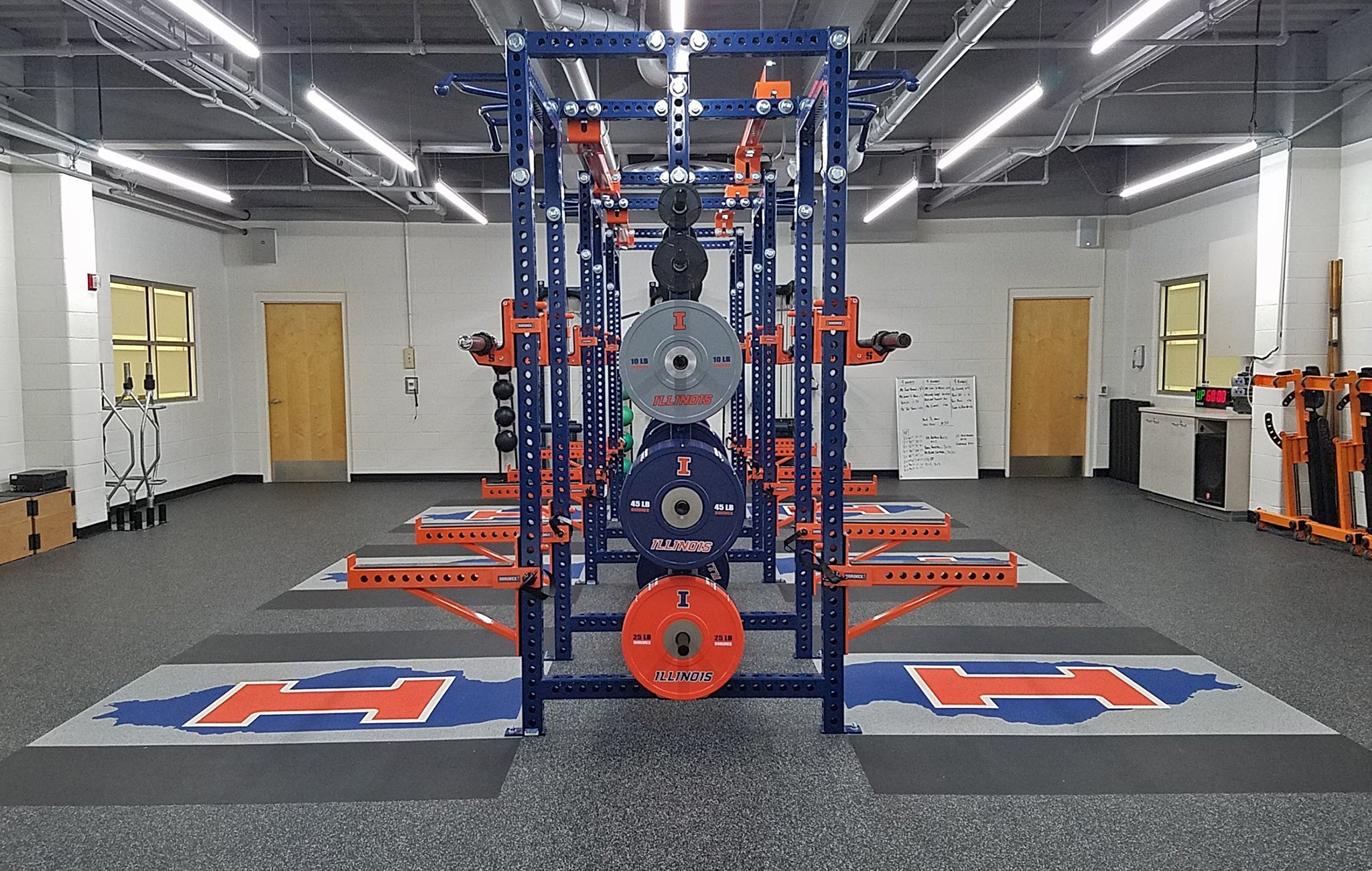 University of Illinois Basketball strength and conditioning