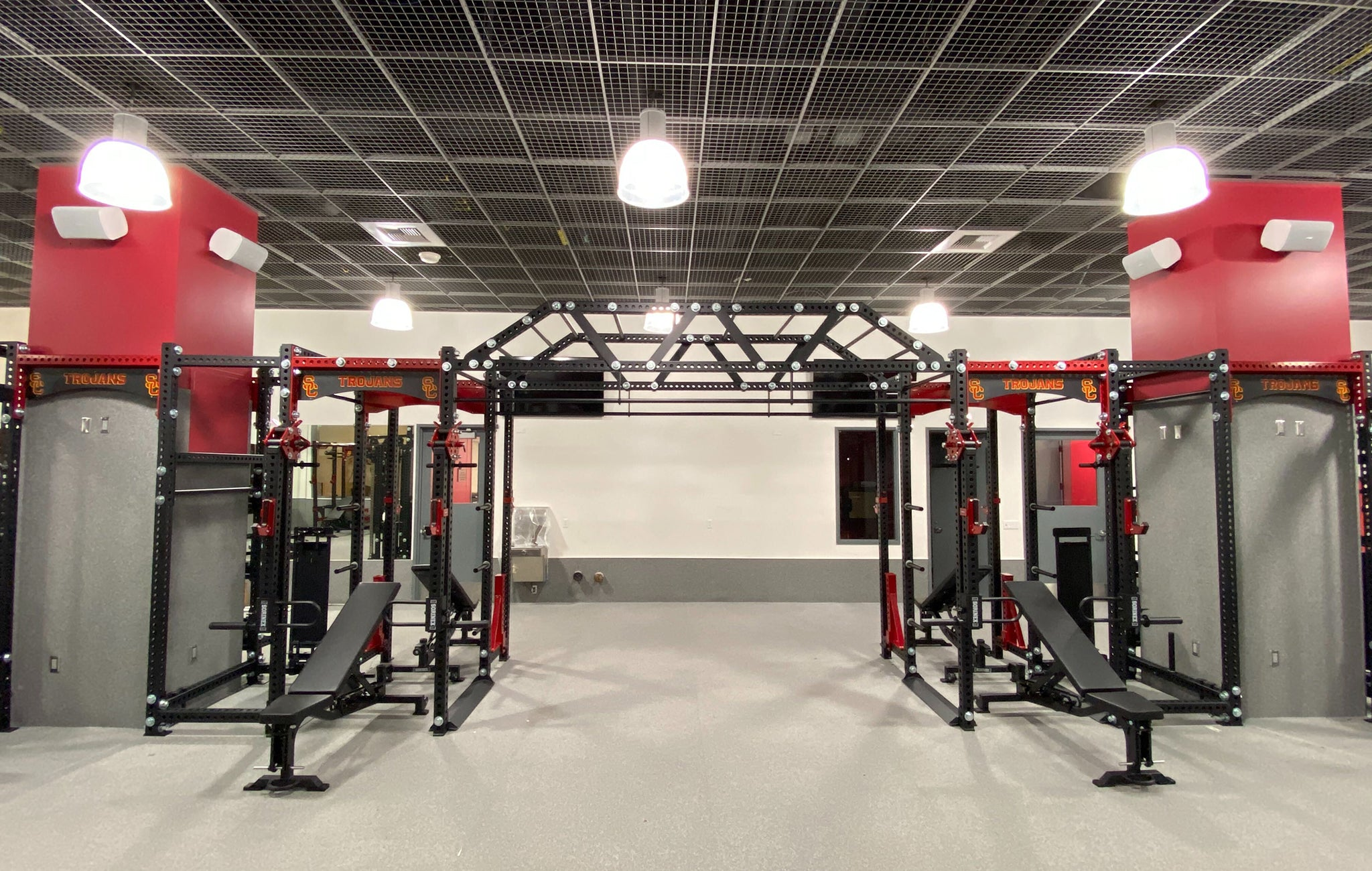 USC weight room