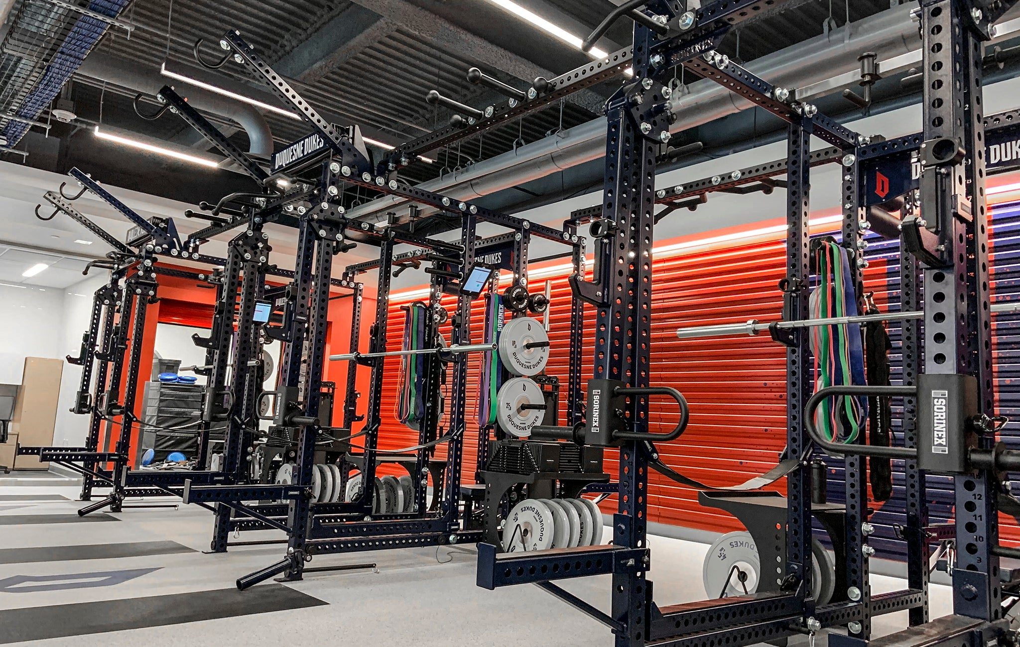 duquesne dukes weight room
