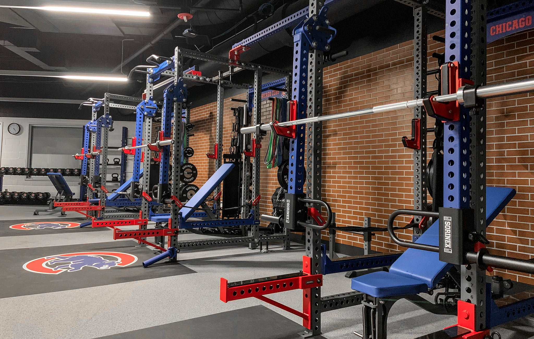 Chicago Cubs Weight Room