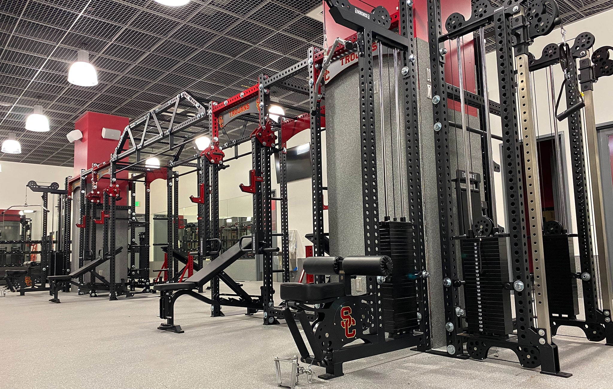 University Southern Cal Weight Room