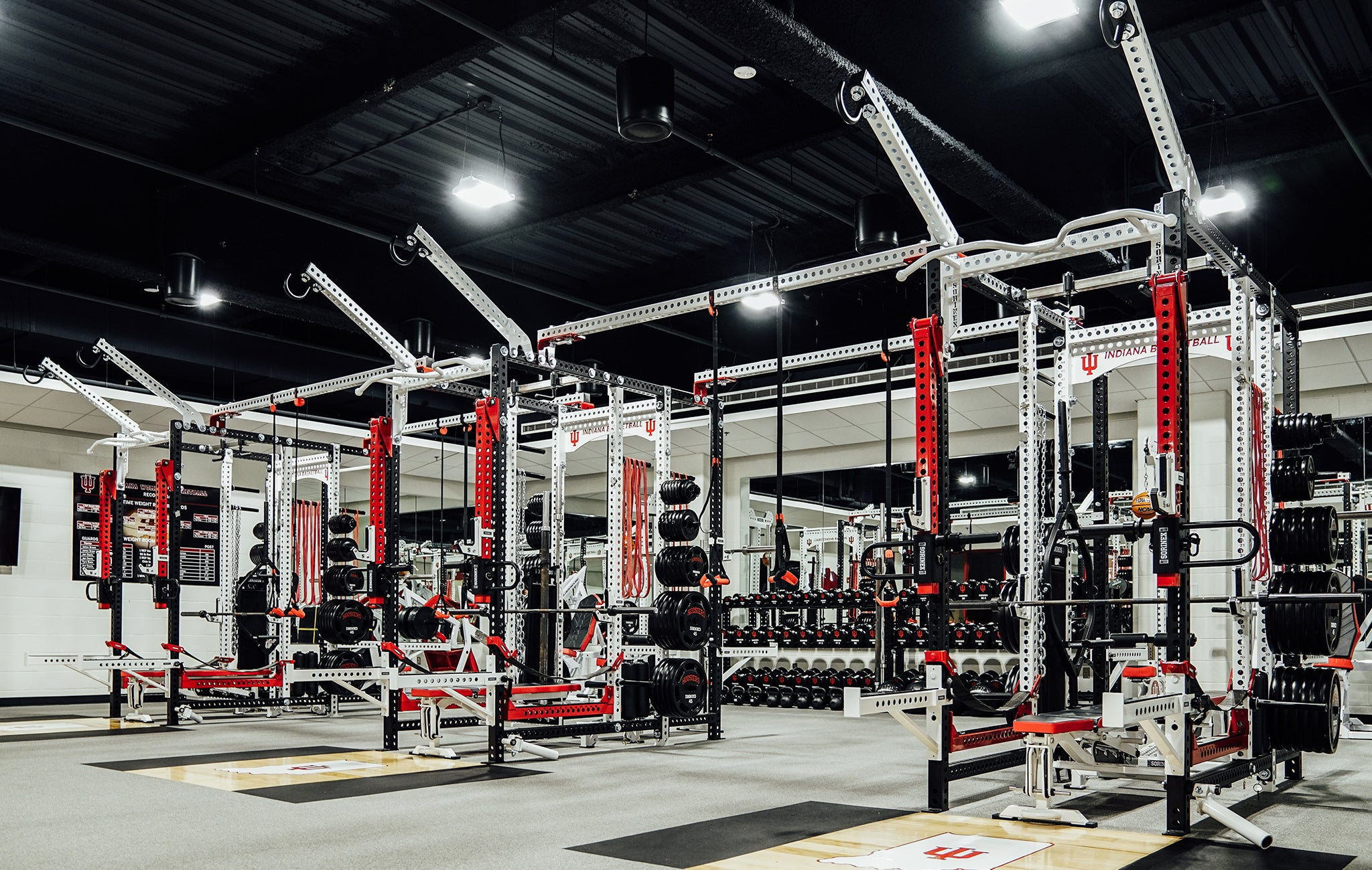 Indiana University weight Room