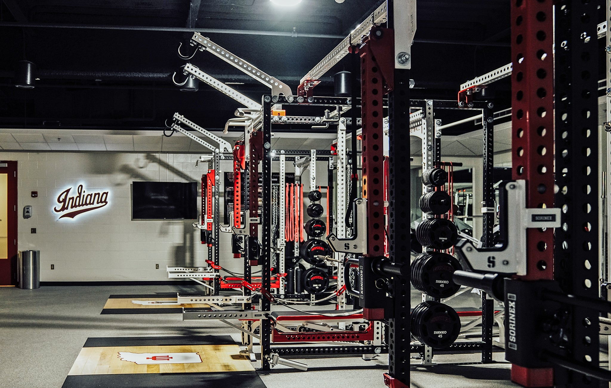 college basketball weight rooms