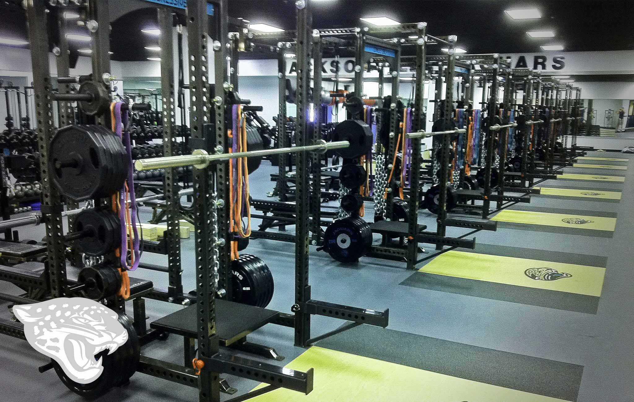 Jacksonville Jaguars Sorinex strength and conditioning facility