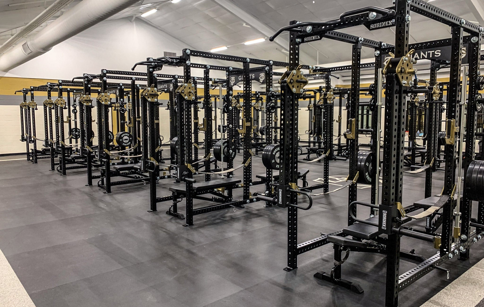 Jena High School strength training