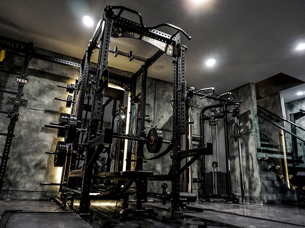 John Damon Home Gym