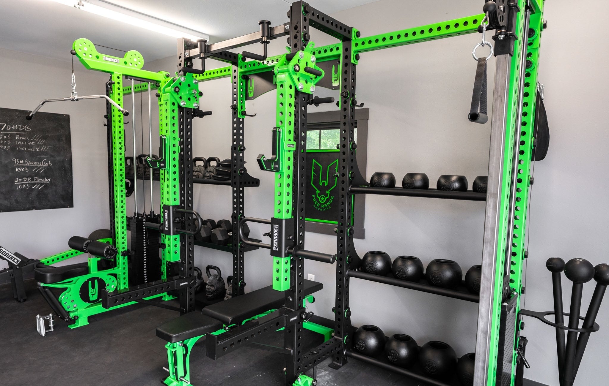 John Dudley Garage Gym