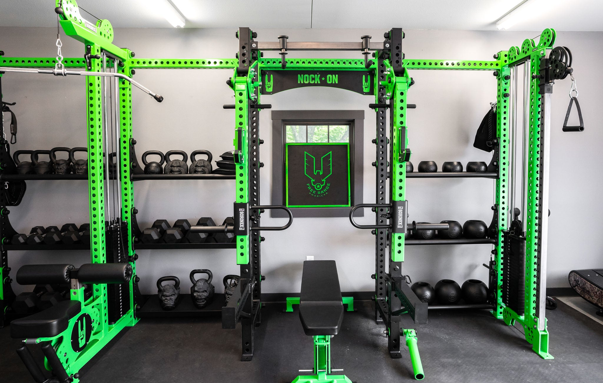 John Dudley Home Gym