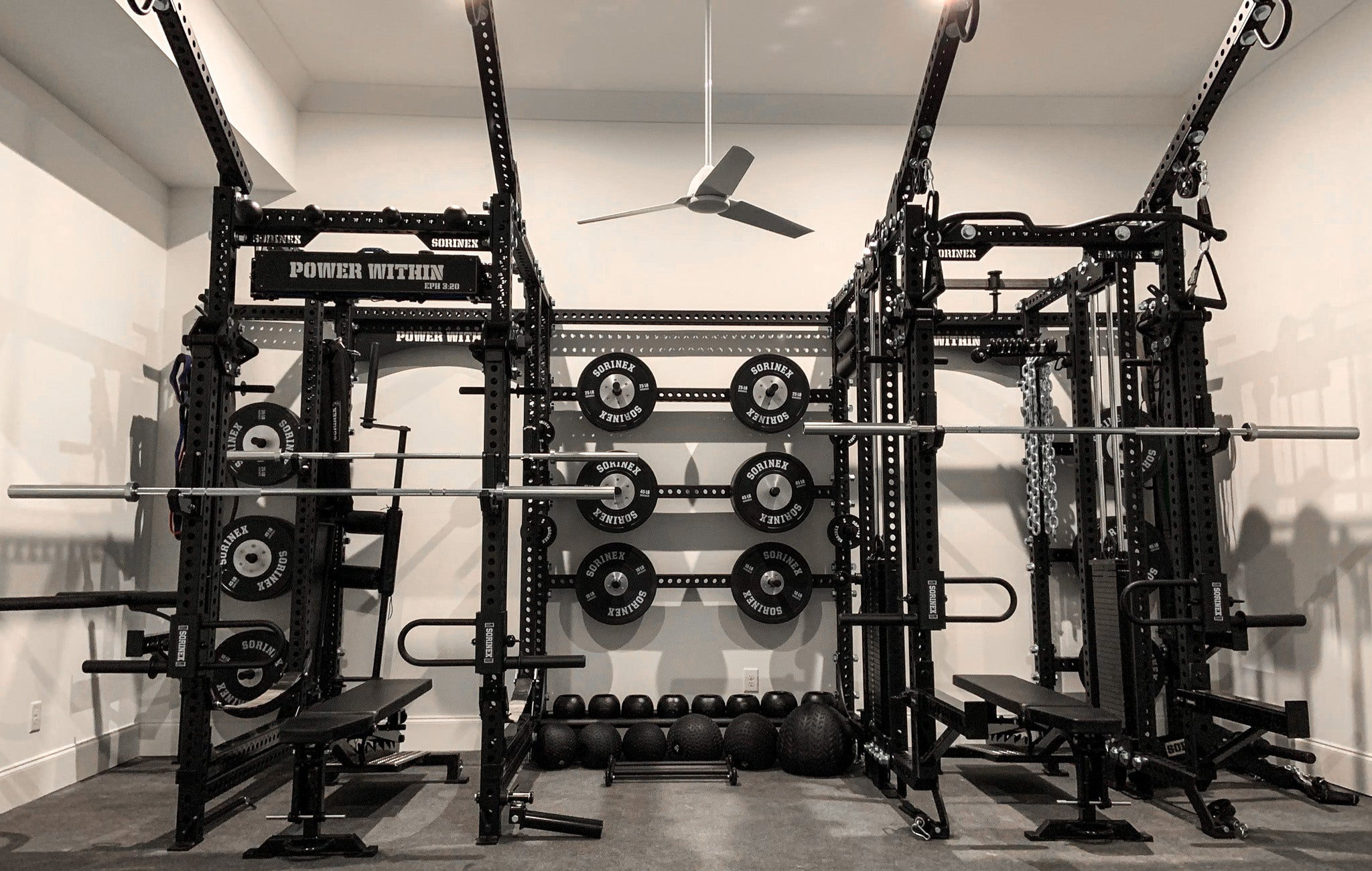 Jordan Rubin Home Gym